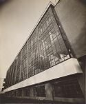 Bauhaus Building, Dessau, 1925-1926: Workshop façade