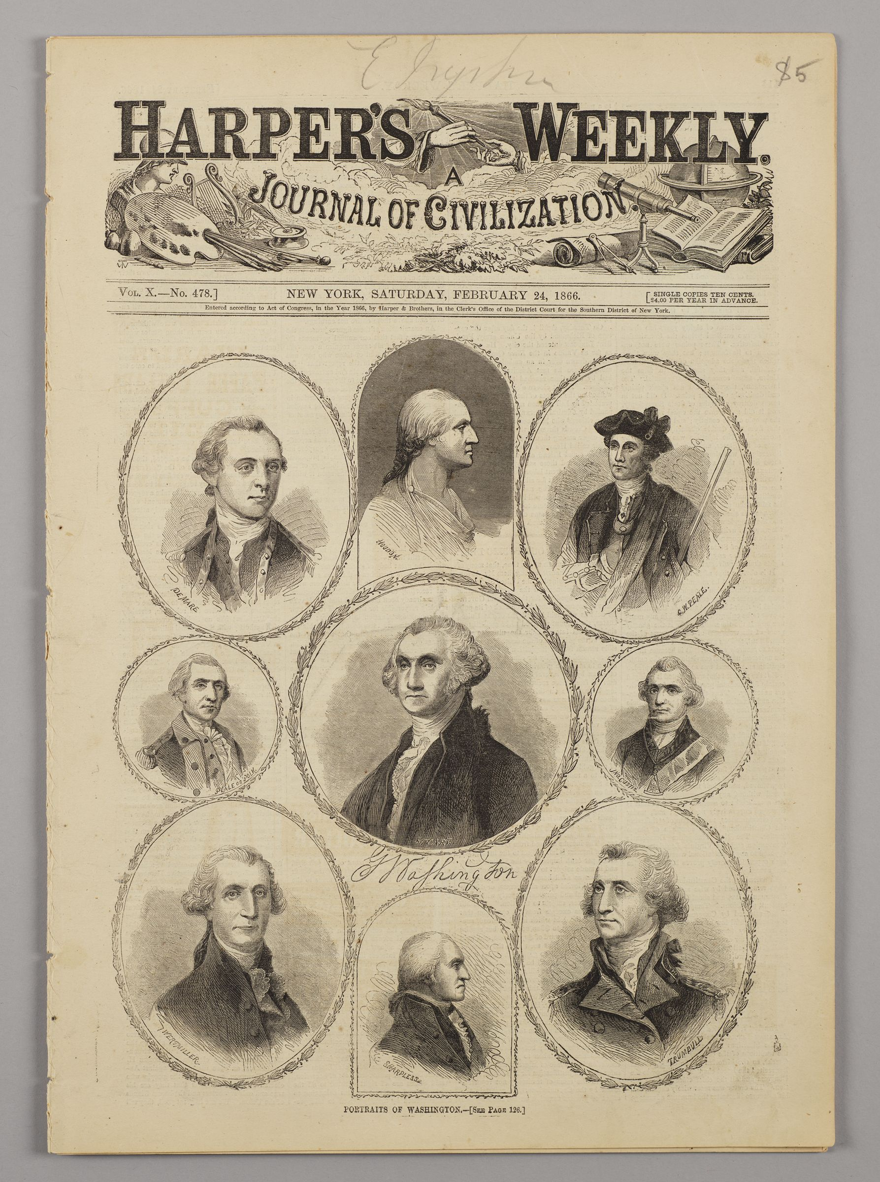Harper's Weekly, Vol. X, No. 478