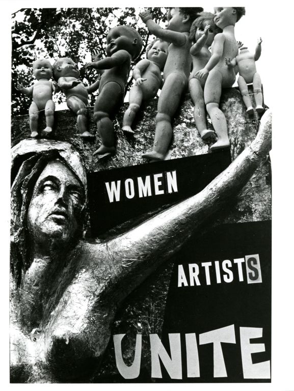 Poster for women's demonstration and march.