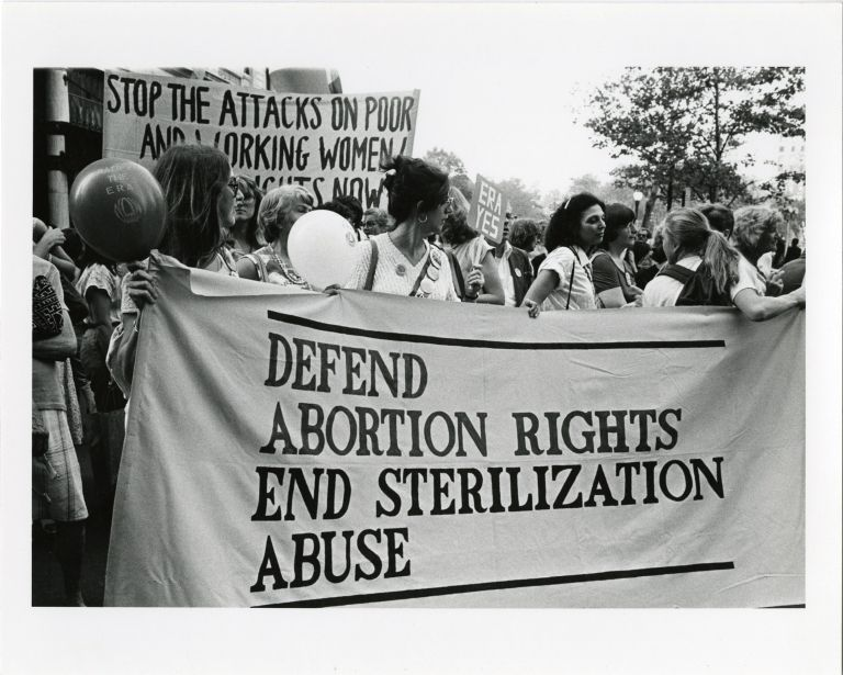 Pro-ERA Demonstration and Women '80 Demonstration.
