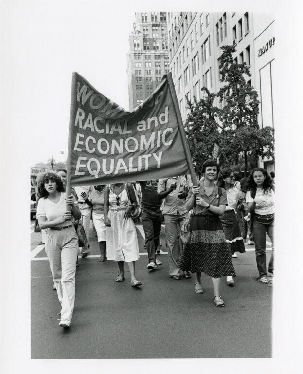 Pro-ERA Demonstration and Women '80 Demonstration.