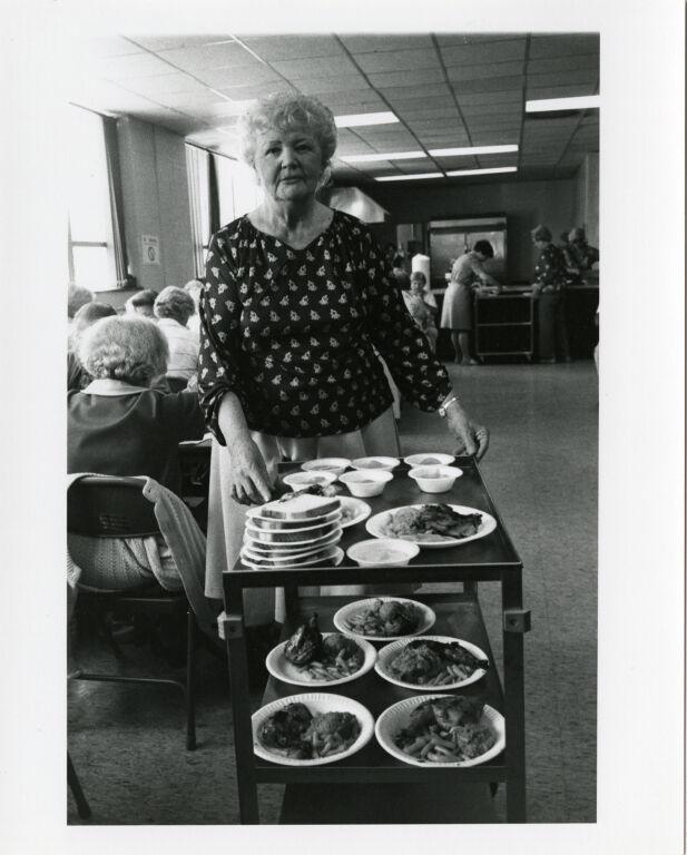 Senior Citizen lunch program