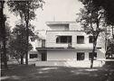 Bauhaus Masters' Housing, Dessau, 1925-1926: Eastern View Of A Duplex
