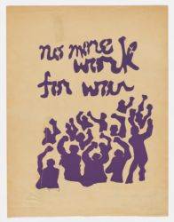 No more work for war, 1969