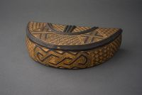 Carved Crescent Shaped Box