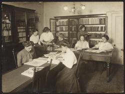 Italian House, Children's Aid Society--library
