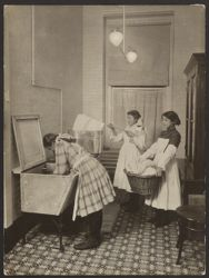 Italian House, Children's Aid Society--instruction in homemaking