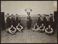 Italian House, Children's Aid Society--senior and junior basket-ball teams