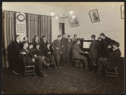 """Italian House, Children's Aid Society--Young Men's Club. A selection from """"Rigoletto"""""""