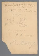 Pencil sketch with notes, possibly of Zanthoxylum fraxineum [Zanthoxylum americanum] (Prickly ash), includes diagram on back in ink, before 1817