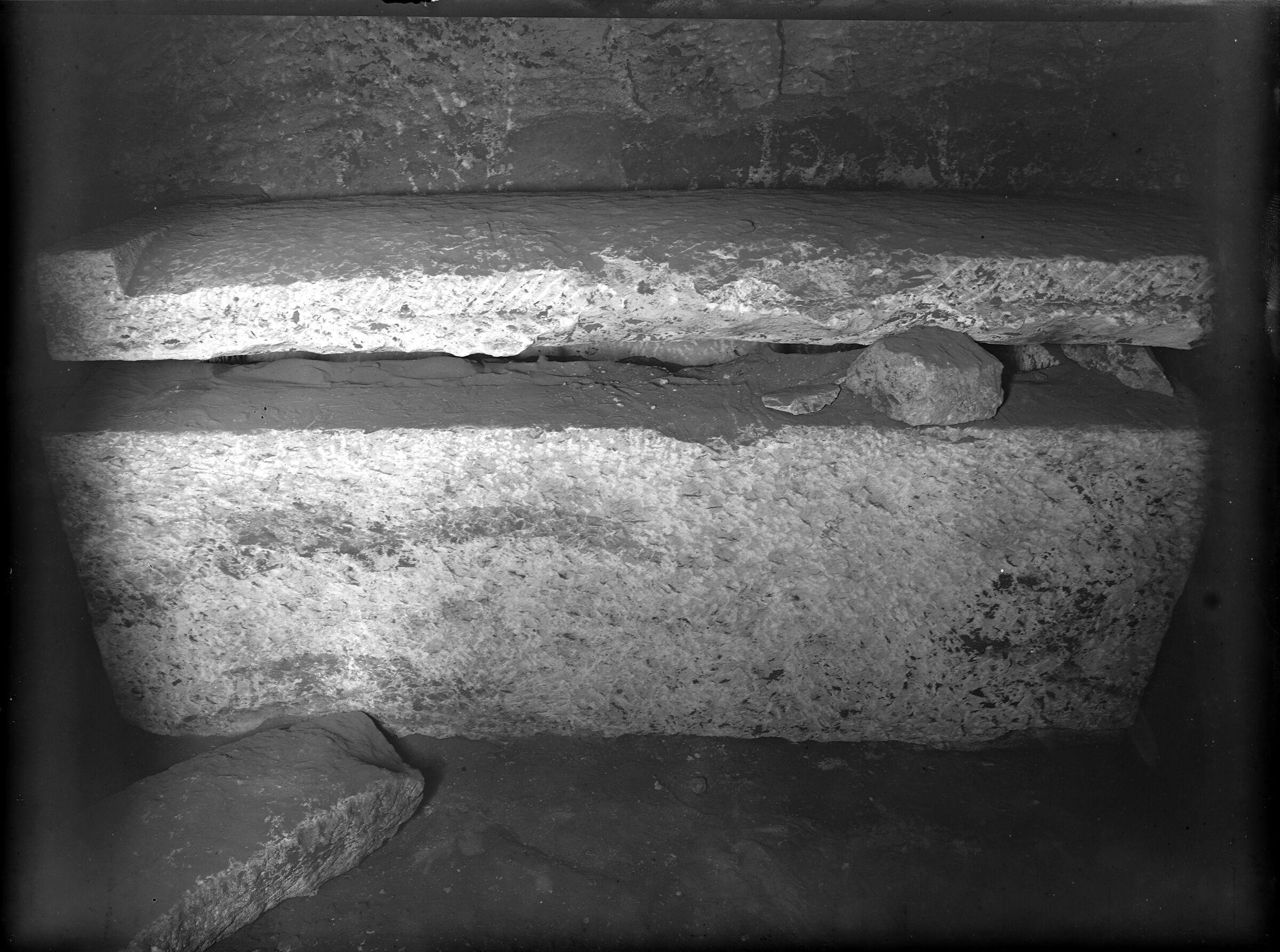 Menkaure Quarry Cemetery: Site: Giza; View: MQ 202