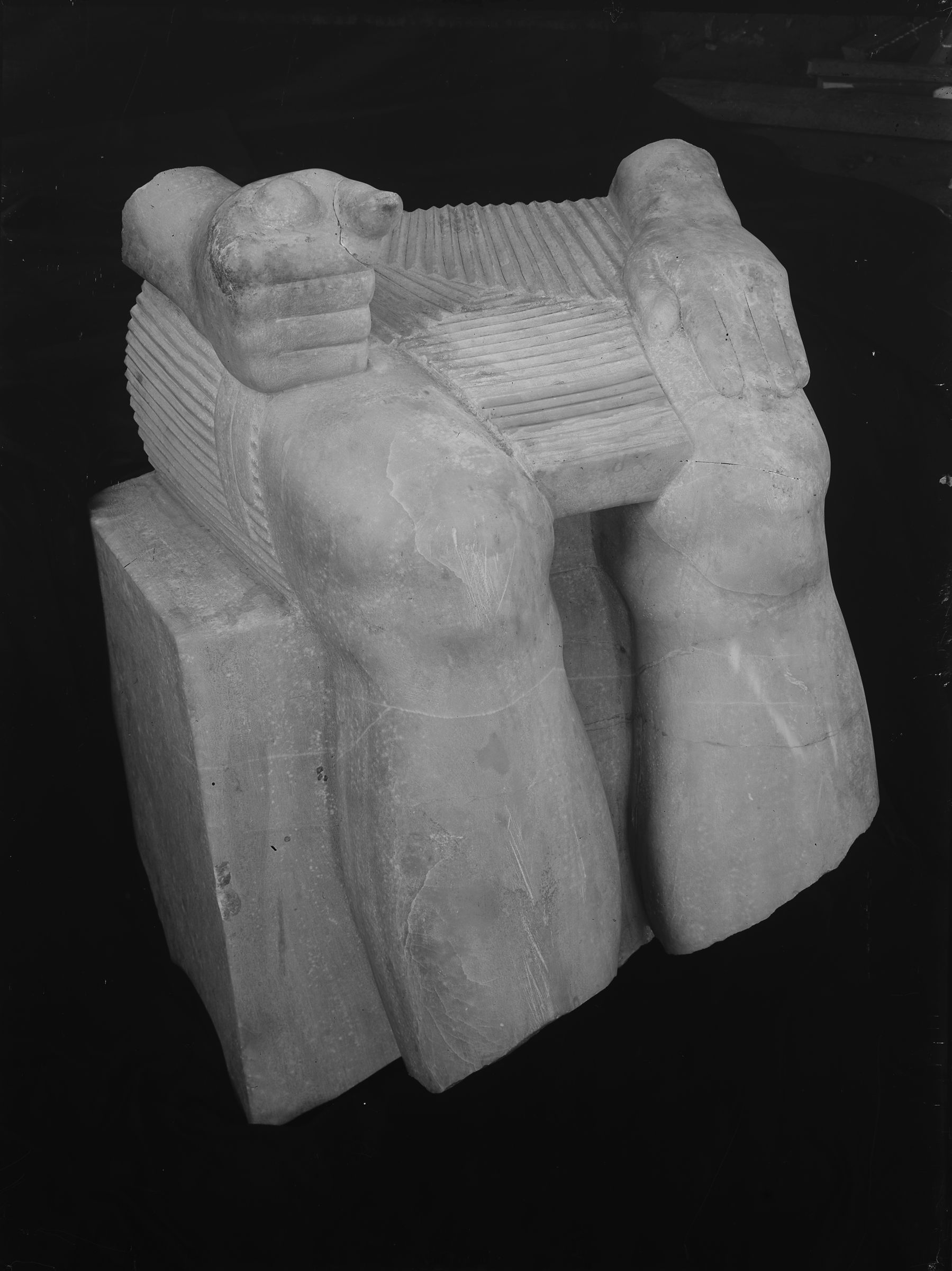 Object(s) photograph: Site: Giza; view: Menkaure pyramid temple