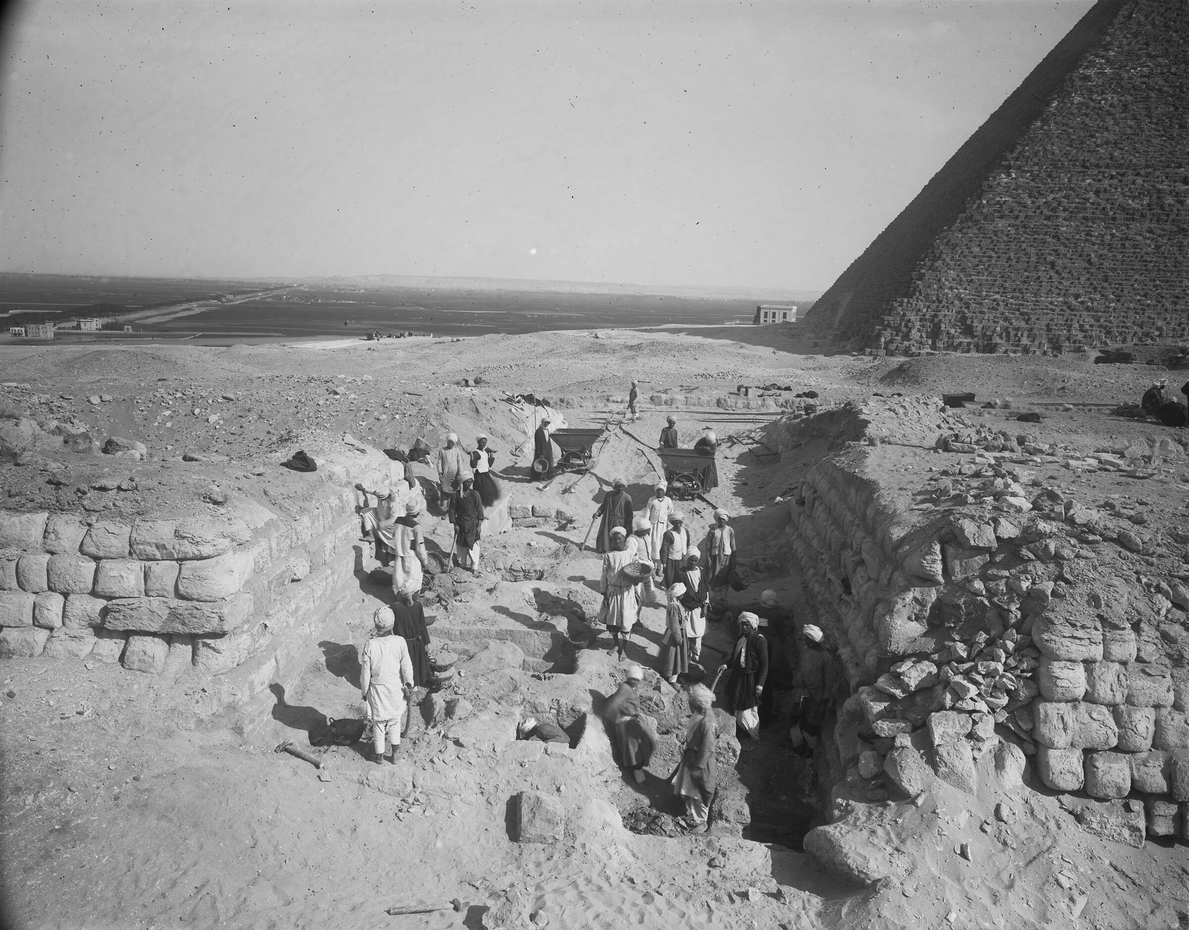 Western Cemetery: Site: Giza; View: G 2140, G 2150, G 2141, G 2142, G 2143