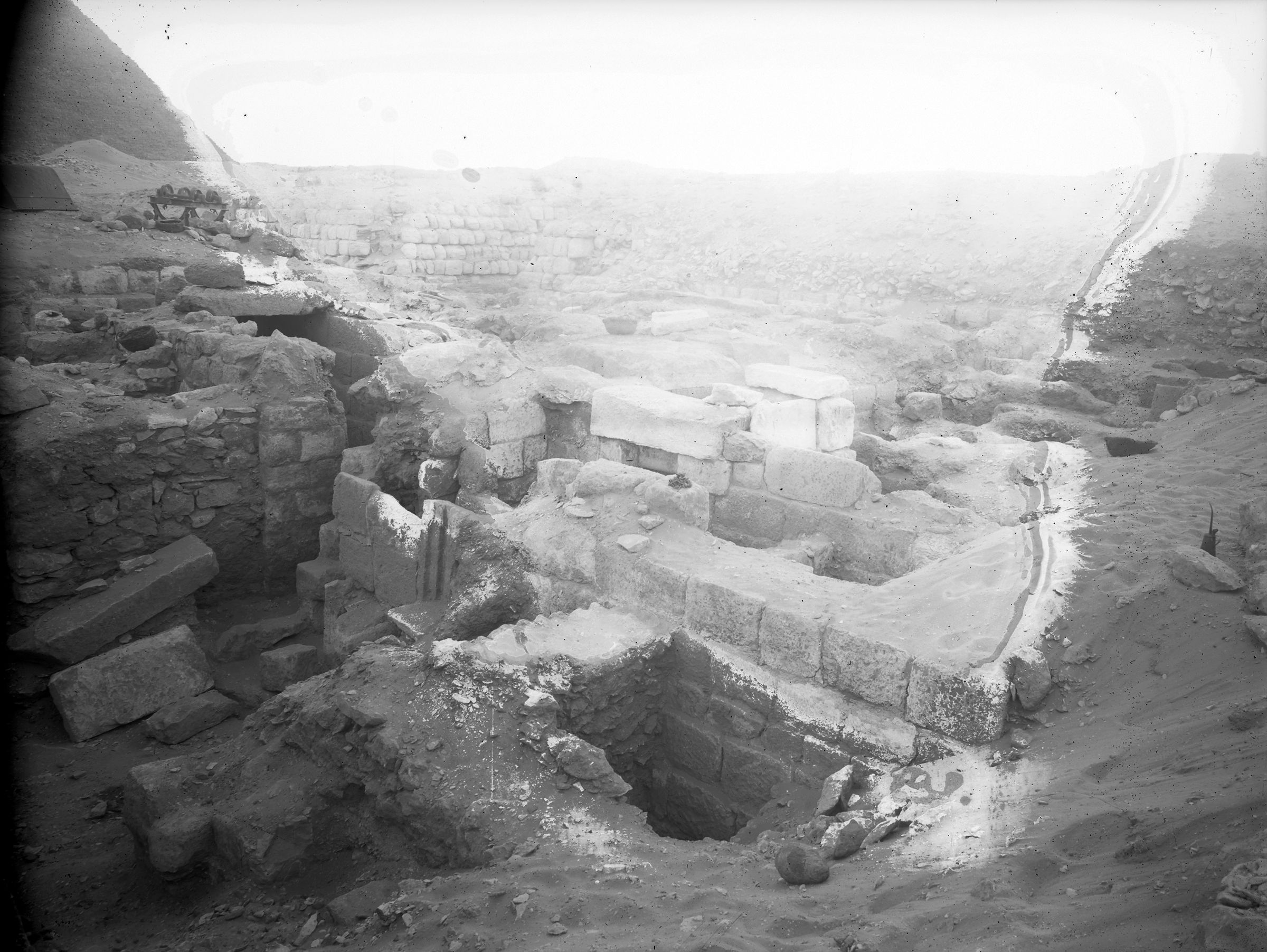 Western Cemetery: Site: Giza; View: G 2179, G 2175, G 2172
