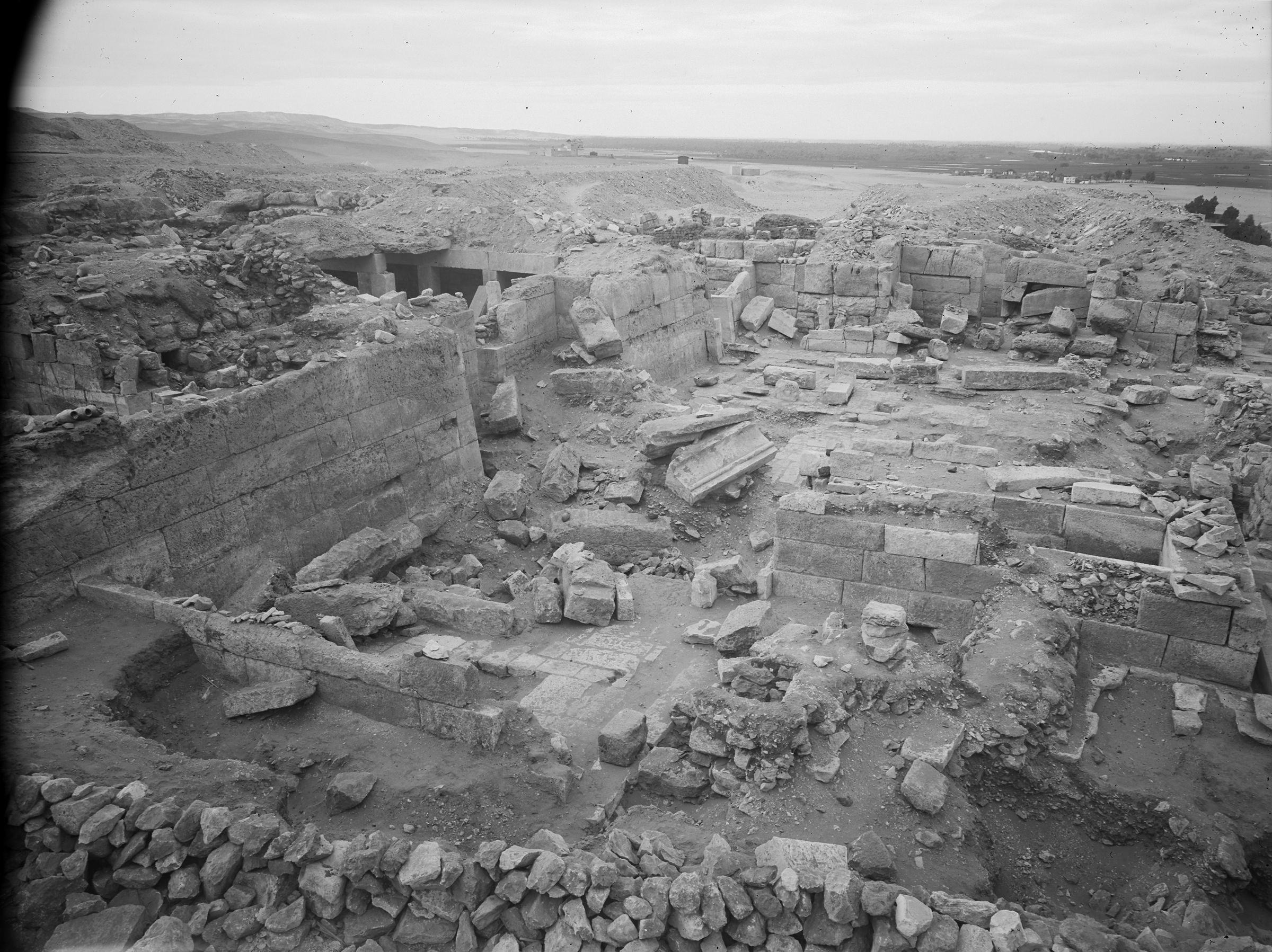 Western Cemetery: Site: Giza; View: G 2370, G 2374, G 2378, G 2381, G 2383