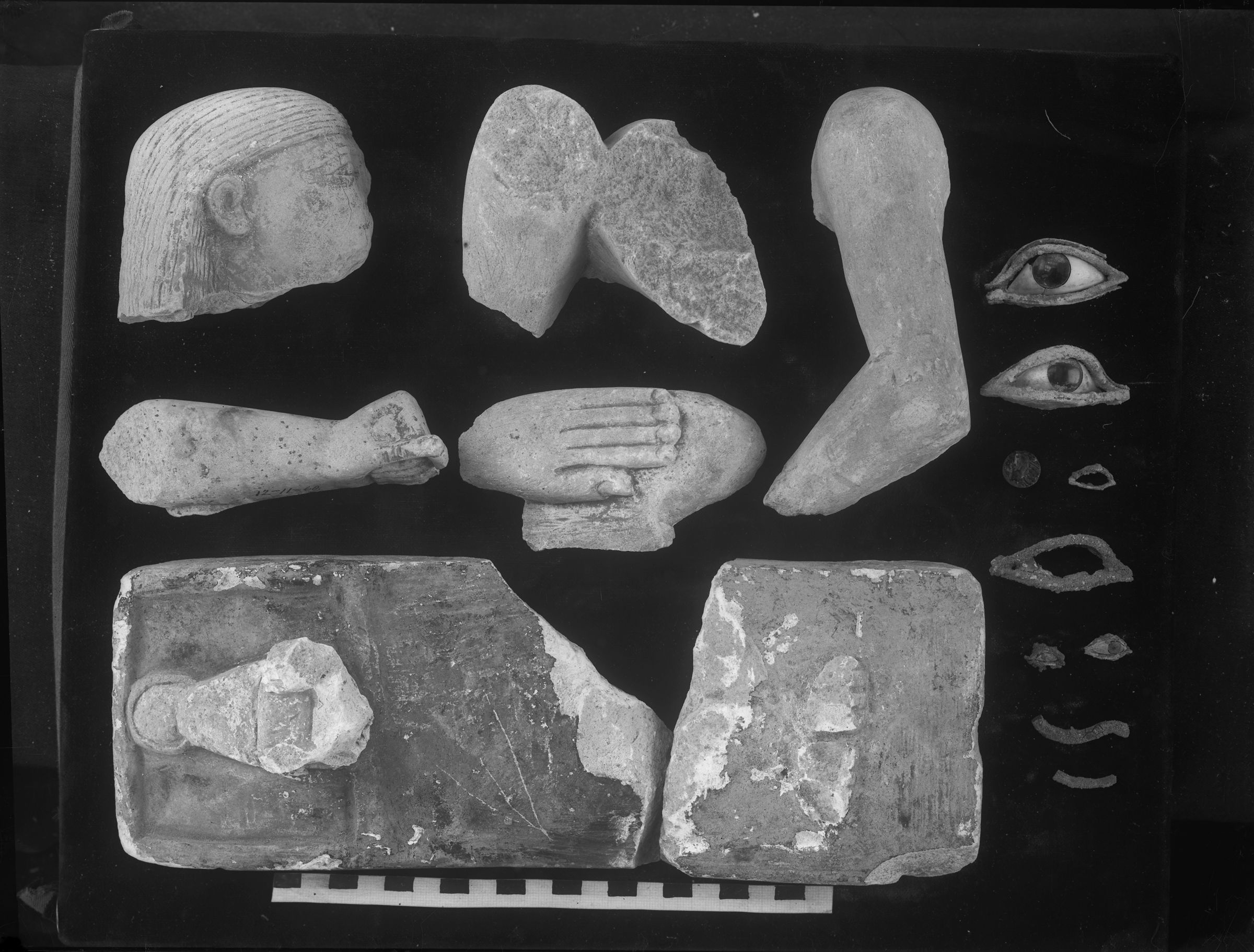 Object(s) photograph: Site: Giza; view: G 2385, G 2384, G 2381, G 2382, G 2450