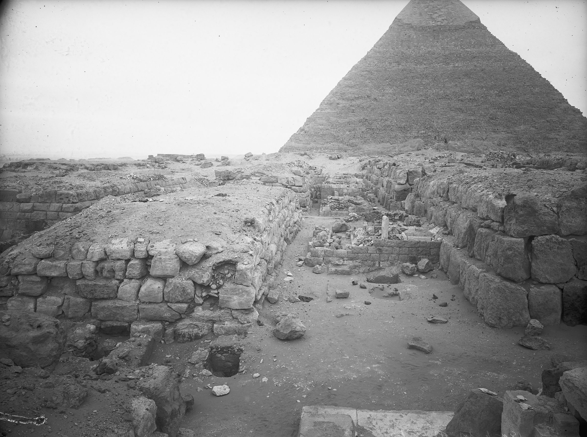 Western Cemetery: Site: Giza; View: G 4740, G 4840, G 4741, G 4742