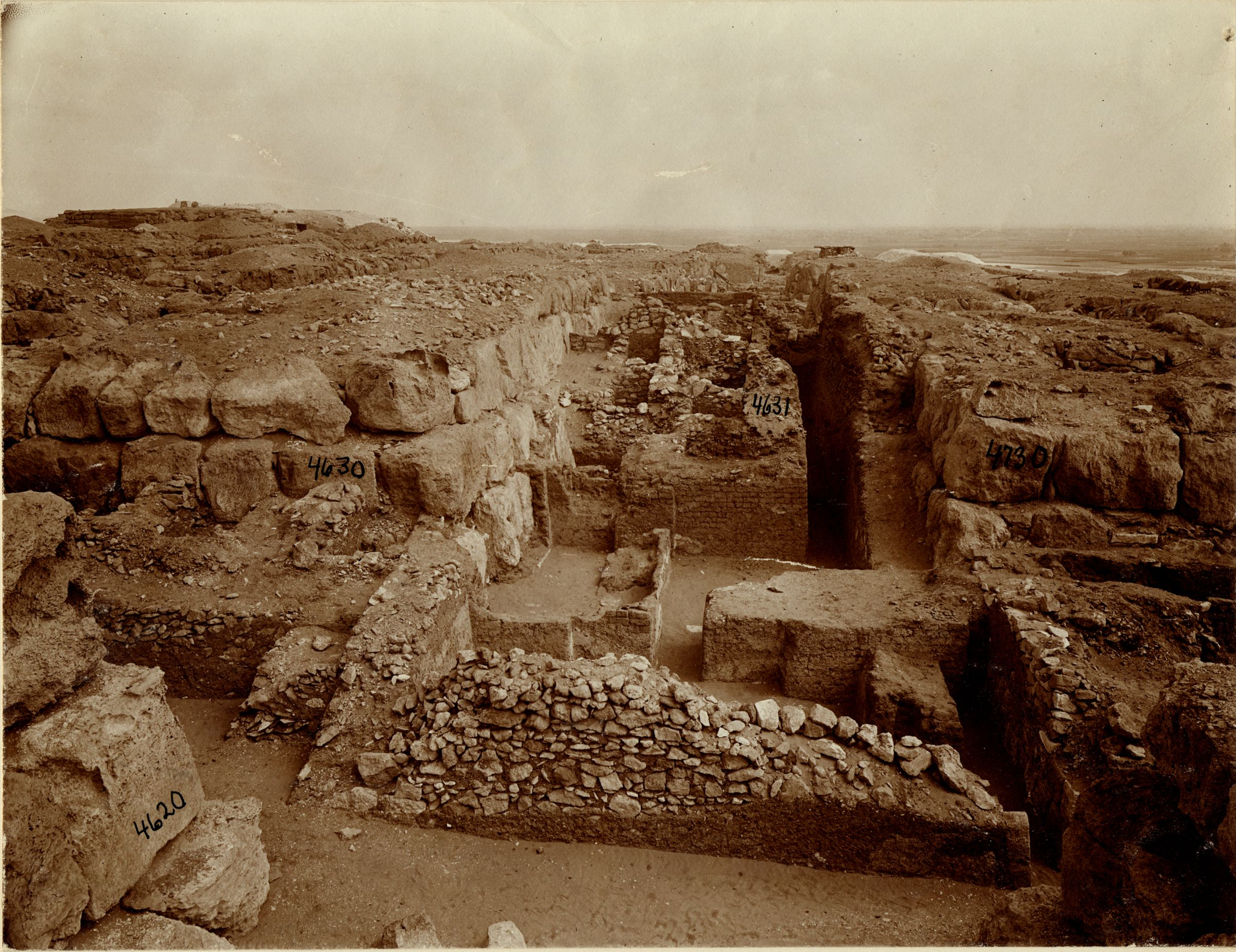 Western Cemetery: Site: Giza; View: G 4631, G 4630, G 4730
