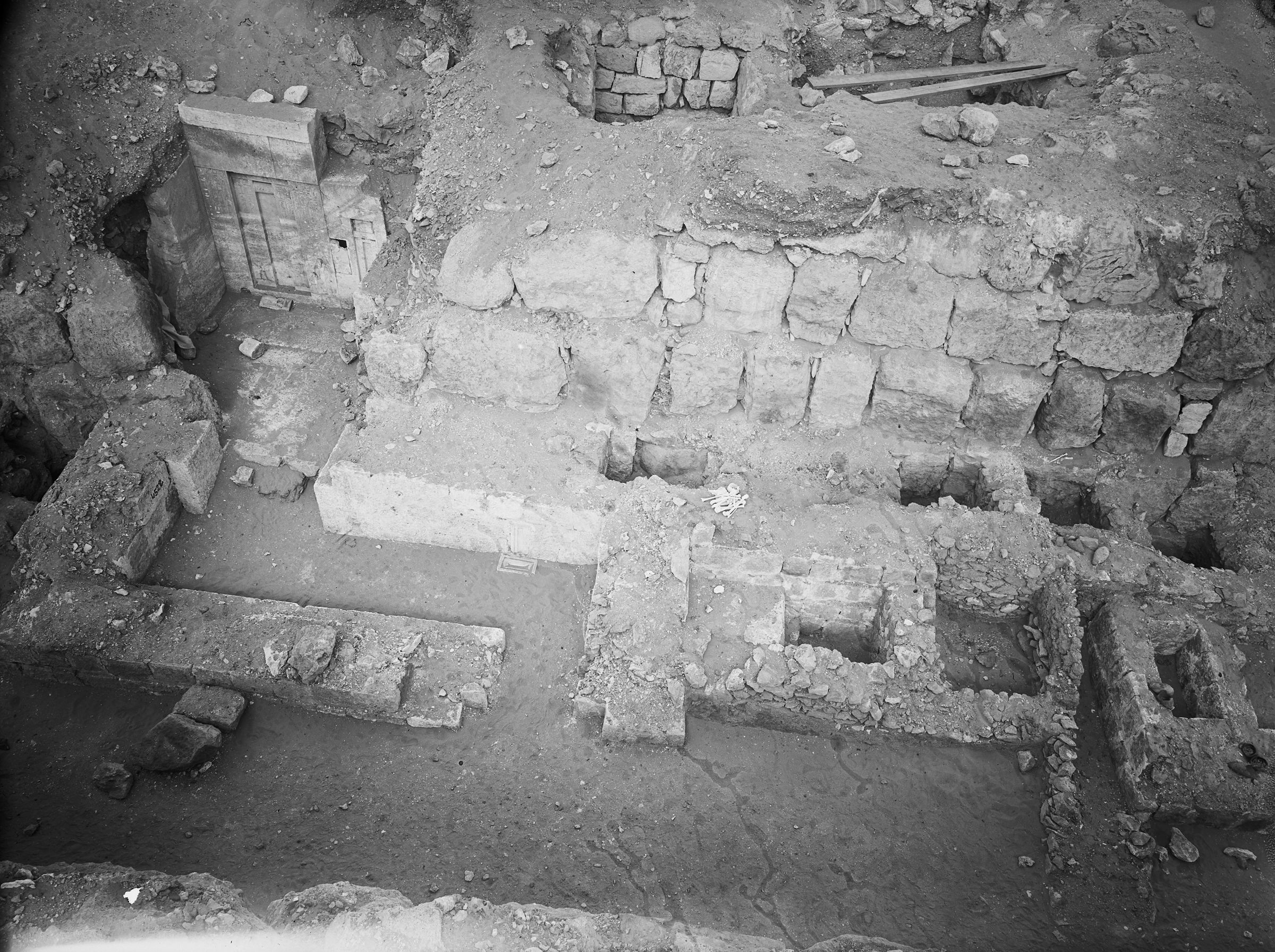 Western Cemetery: Site: Giza; View: G 4520, G 4523