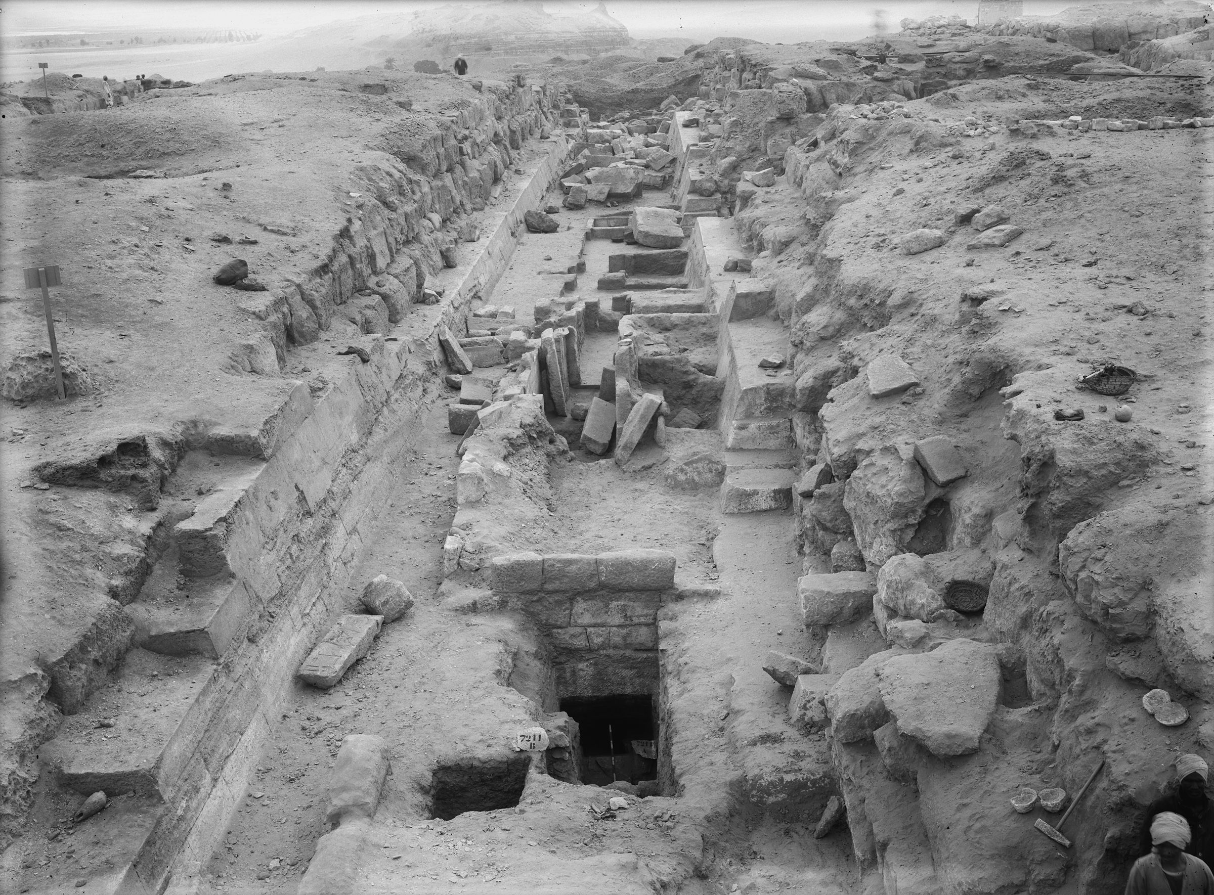 Eastern Cemetery: Site: Giza; View: street G 7200, G 7210-7220, G 7310-7320, G 7211