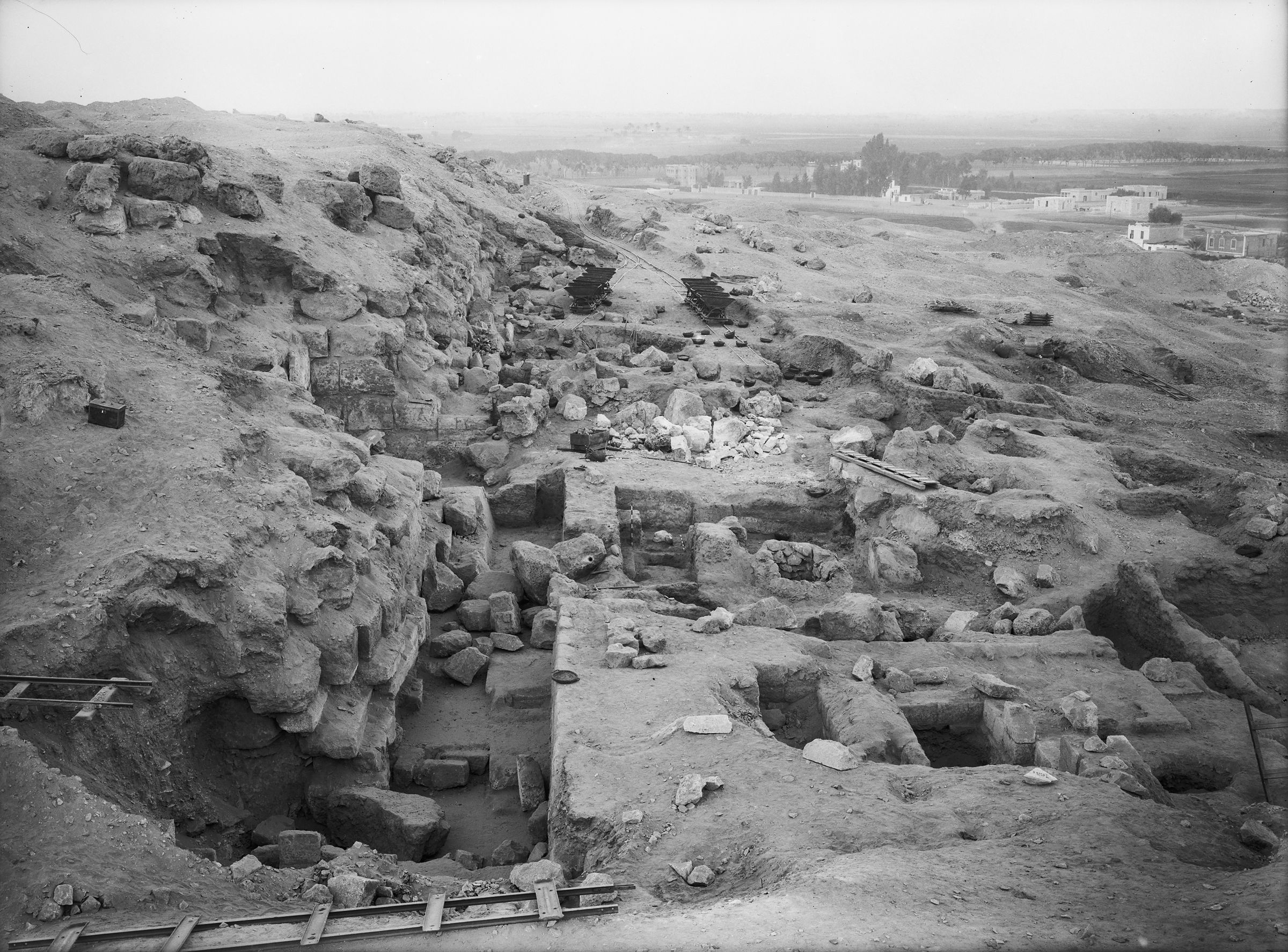 Eastern Cemetery: Site: Giza; View: street G 7500, G 7510, G 7631