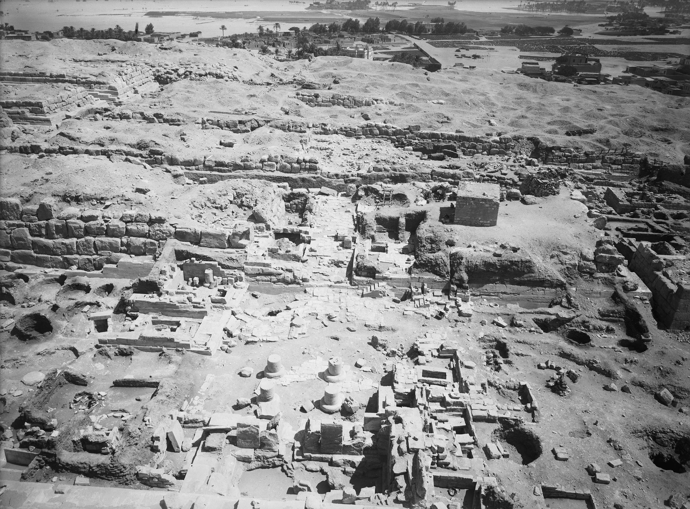 Eastern Cemetery: Site: Giza; View: street G 7000, Isis Temple