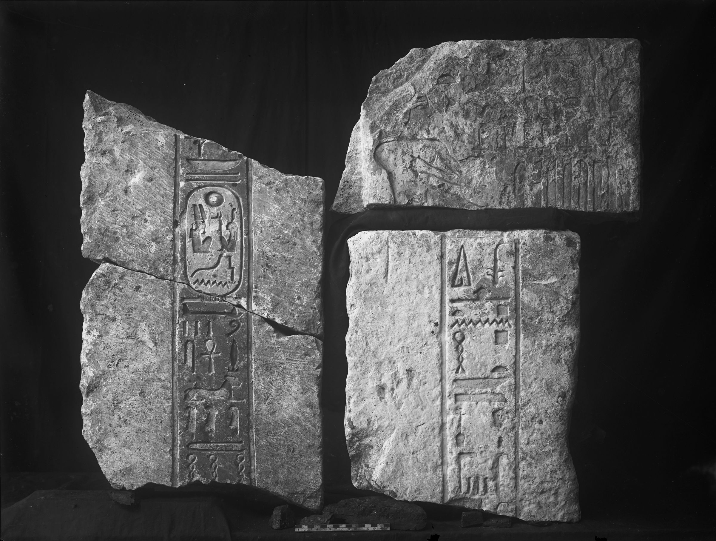 Object(s) photograph: Site: Giza; view: street G 7200, G 7000 SW trench 29, Isis Temple