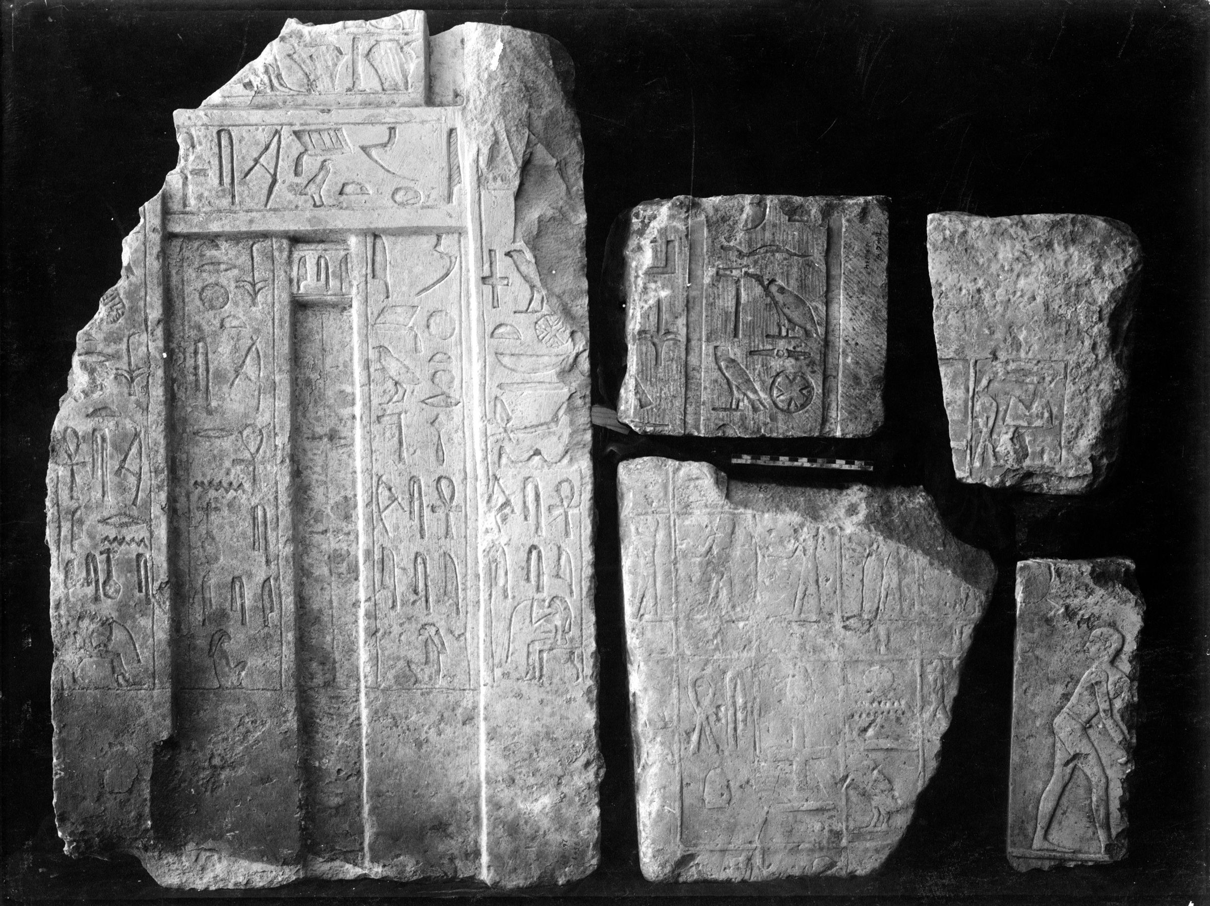 Object(s) photograph: Site: Giza; view: G 7509, G 7130-7140, street G 7200, Isis Temple
