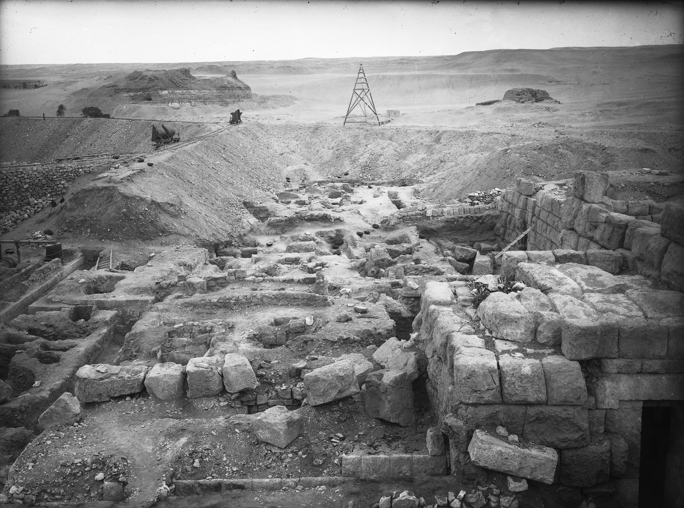 Eastern Cemetery: Site: Giza; View: G 7150, G 7143, G 7144