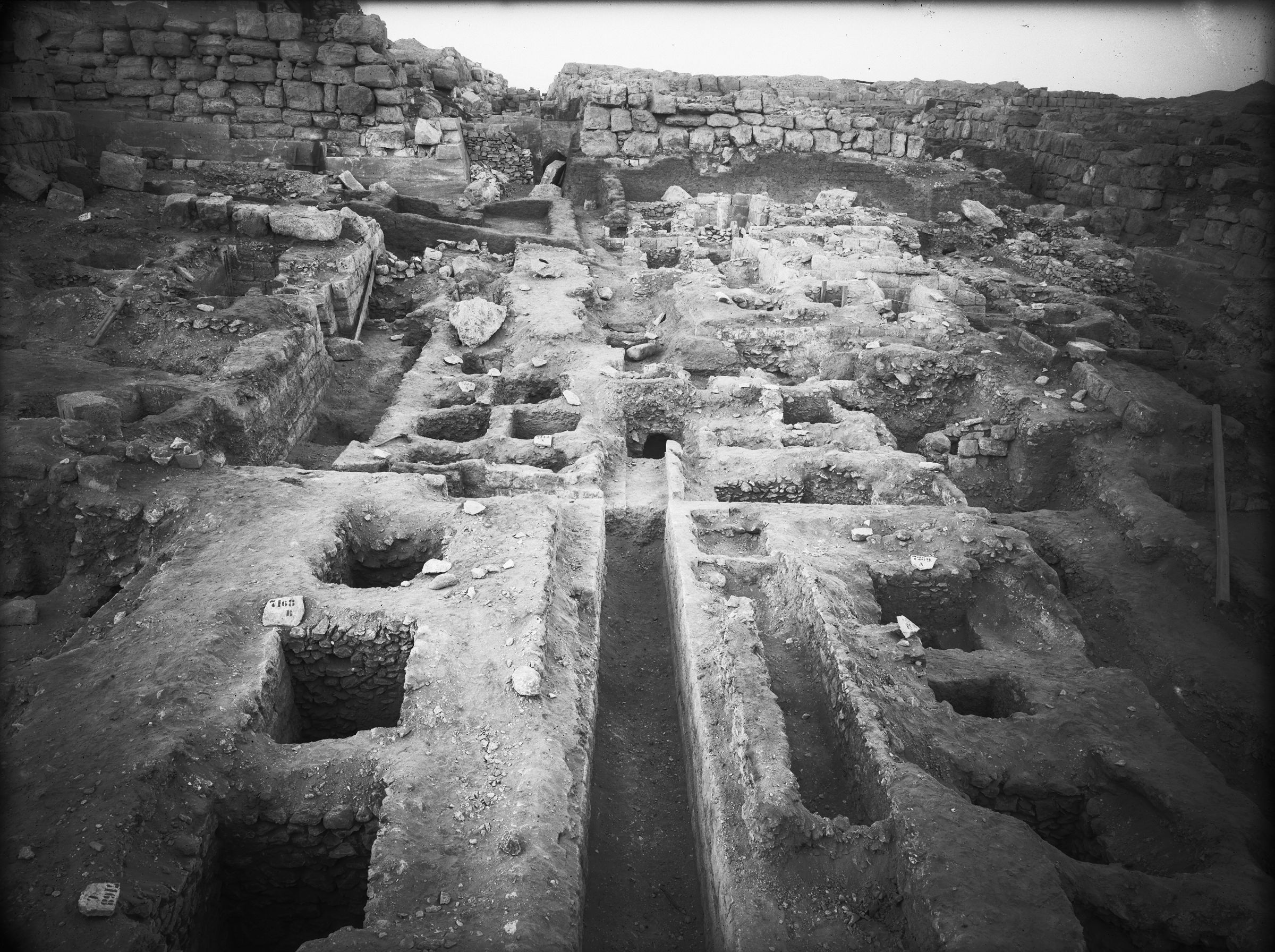 Eastern Cemetery: Site: Giza; View: G 7168, G 7259, G 7143, G 7144, G 7146, G 7253, G 7254