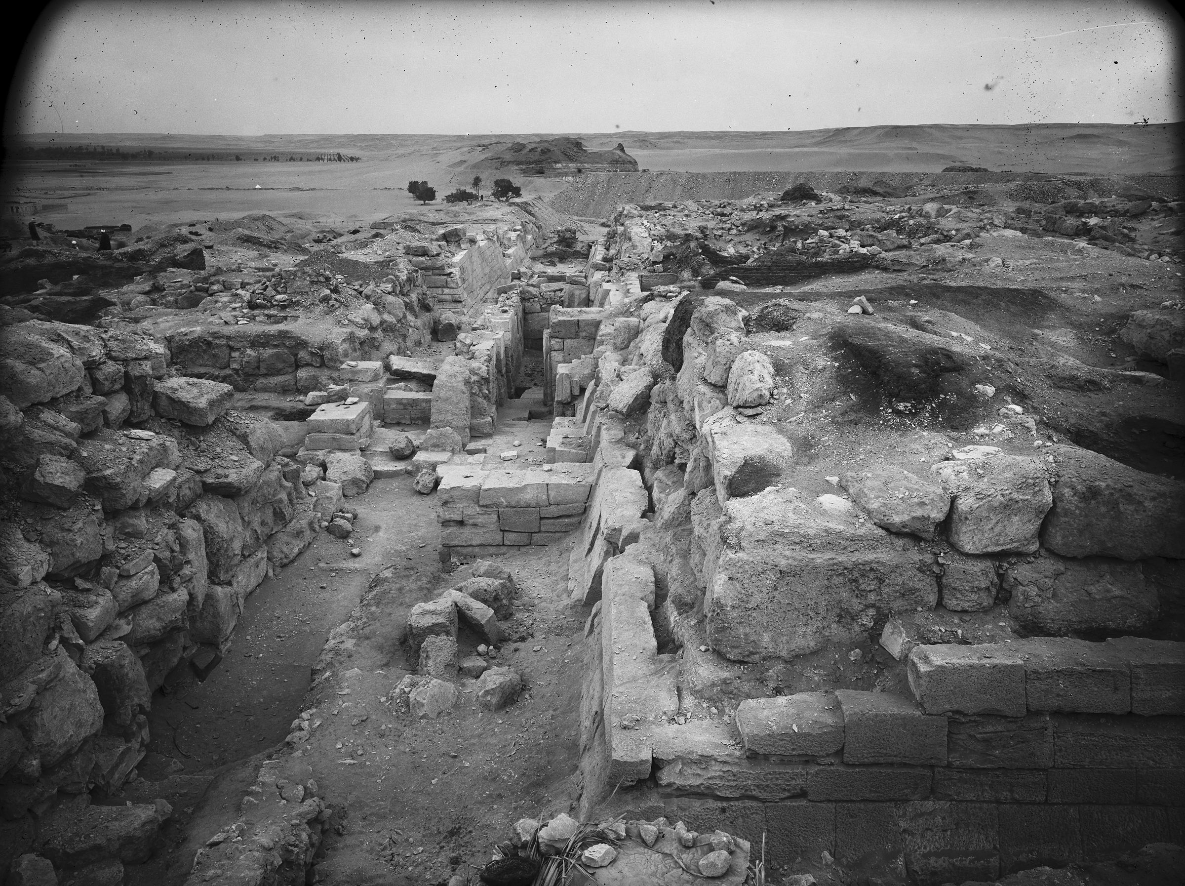 Eastern Cemetery: Site: Giza; View: street G 7400, G 7430-7440