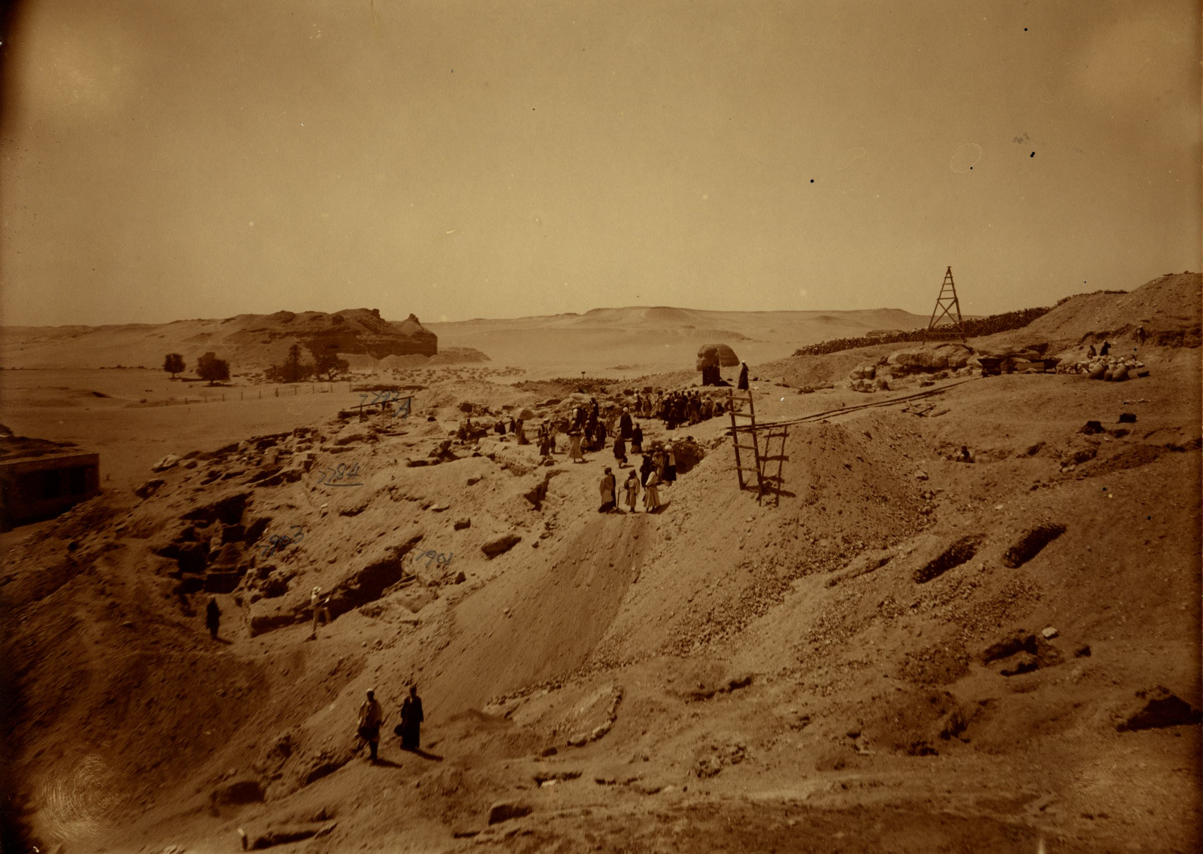 Eastern Cemetery: Site: Giza; View: G 7901, G 7903, G 7784, G 7792