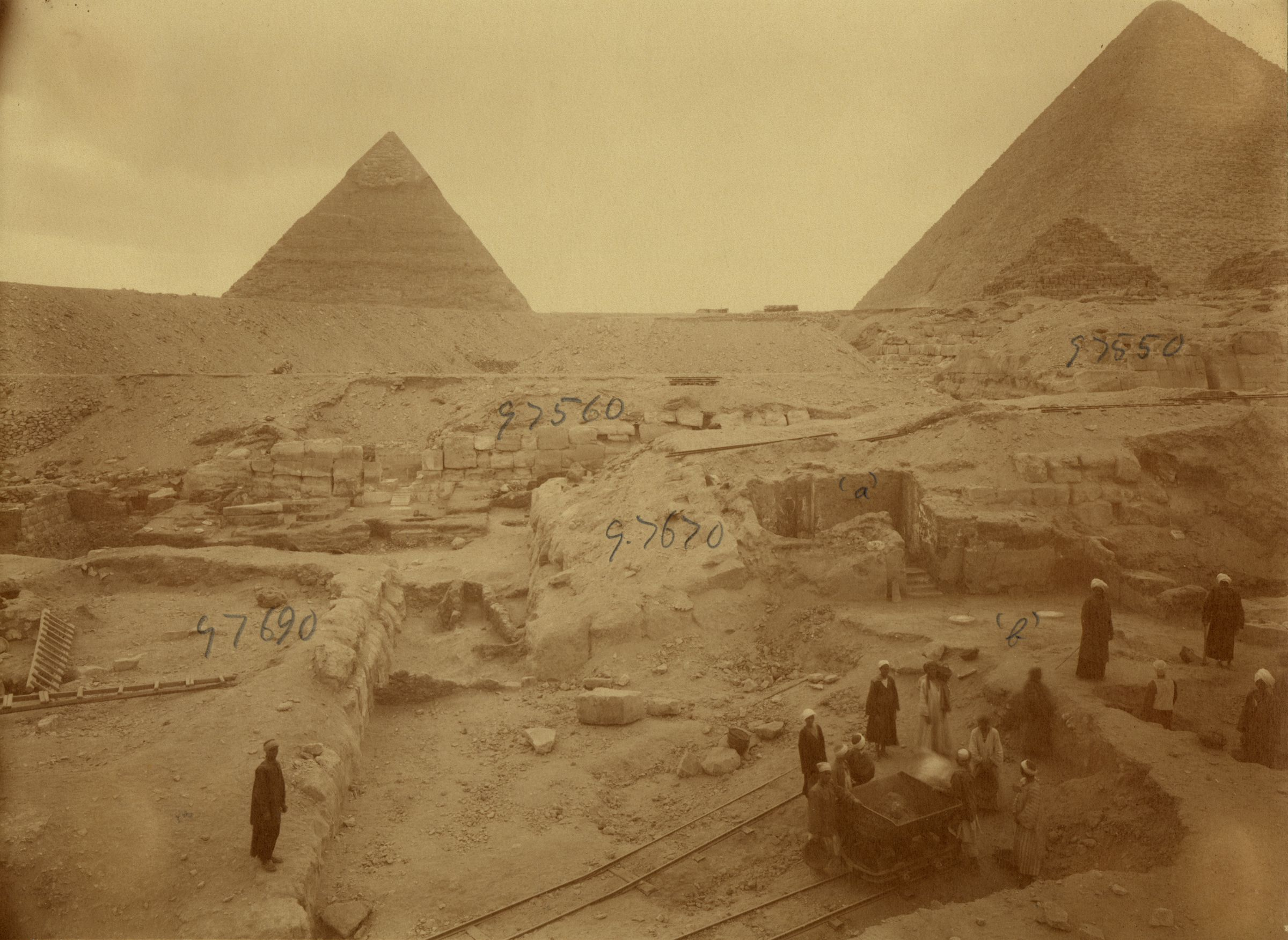 Eastern Cemetery: Site: Giza; View: G 7690, G 7560, G 7670