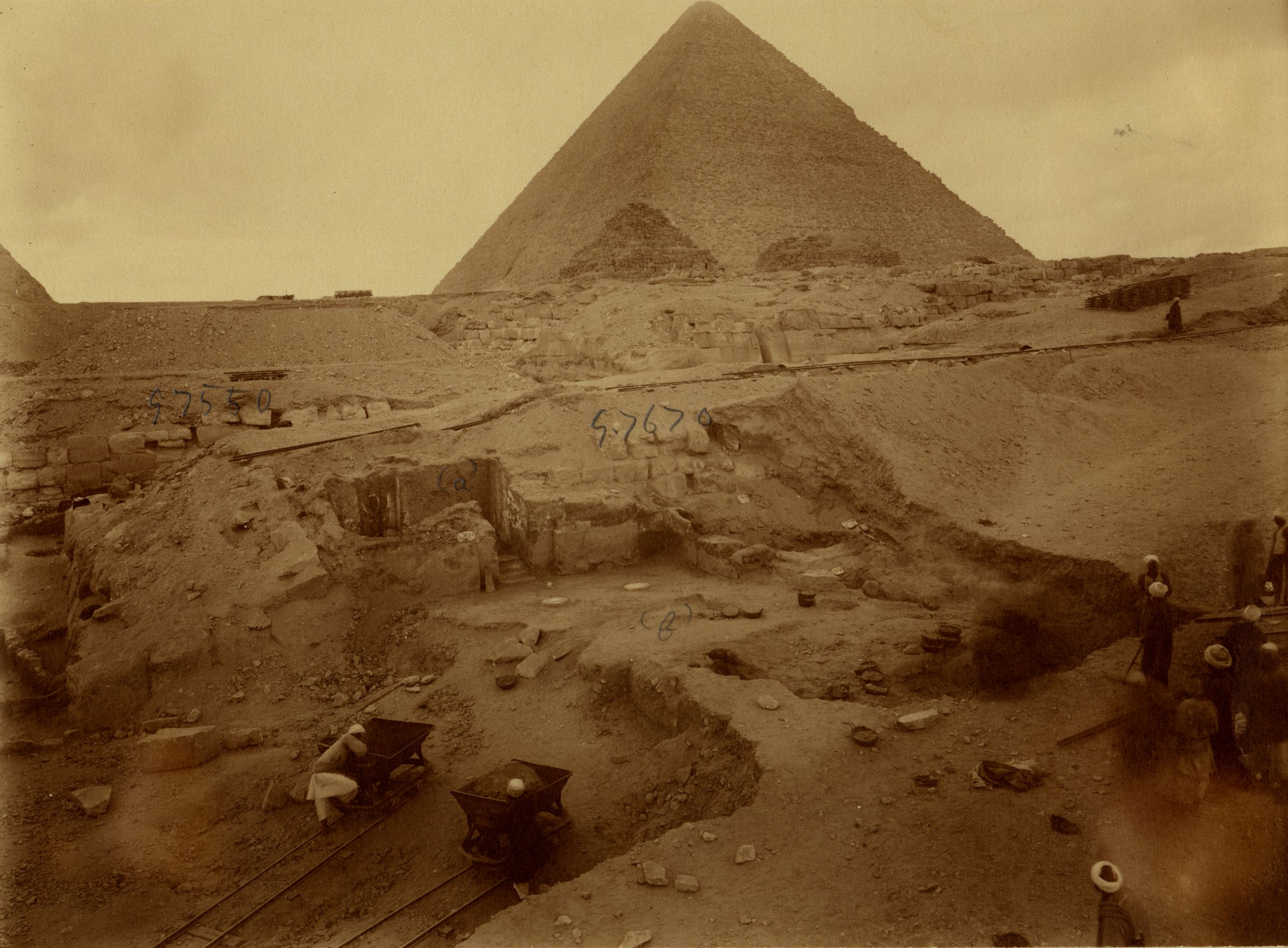 Eastern Cemetery: Site: Giza; View: G 7670