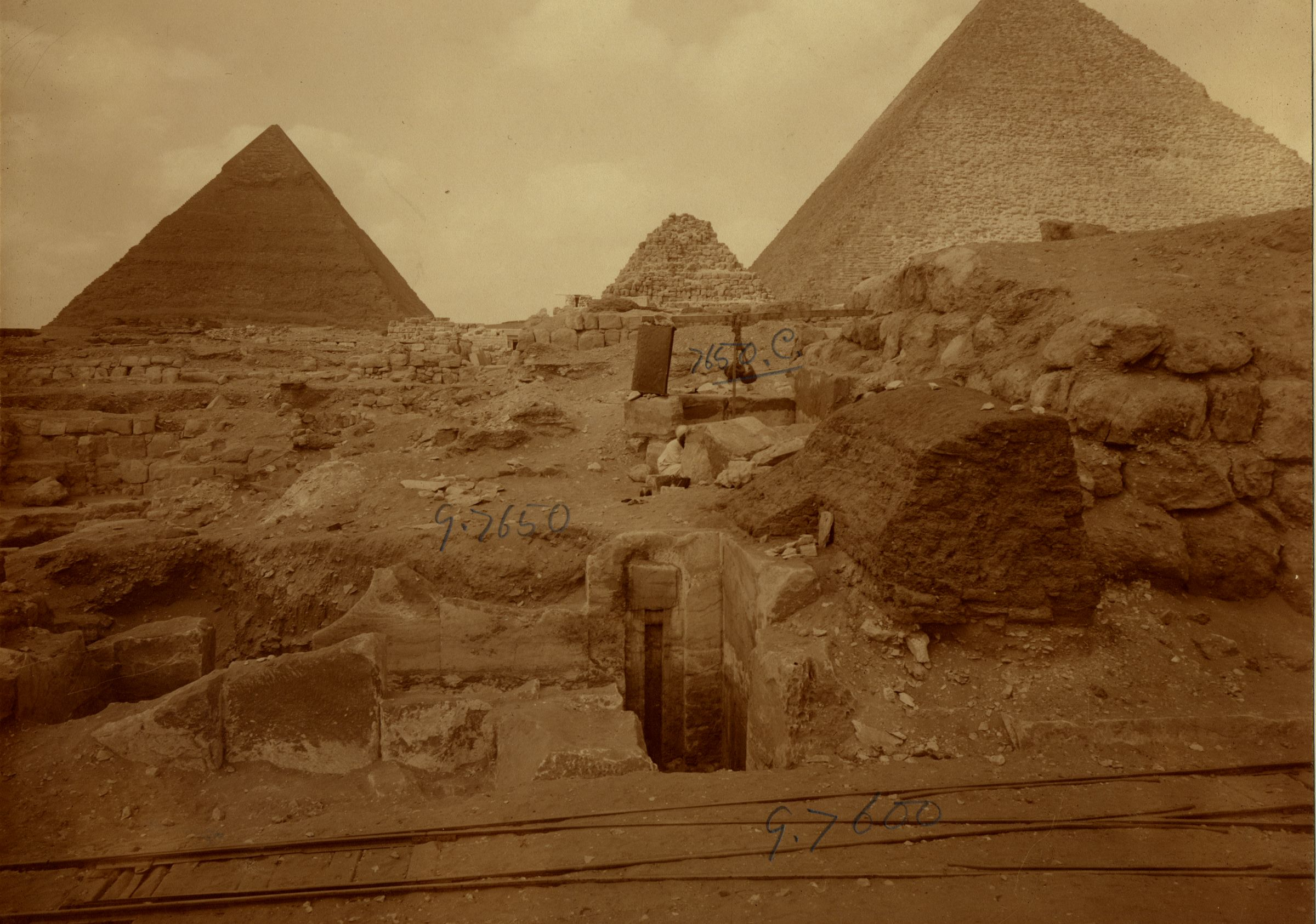 Eastern Cemetery: Site: Giza; View: street G 7600, G 7650