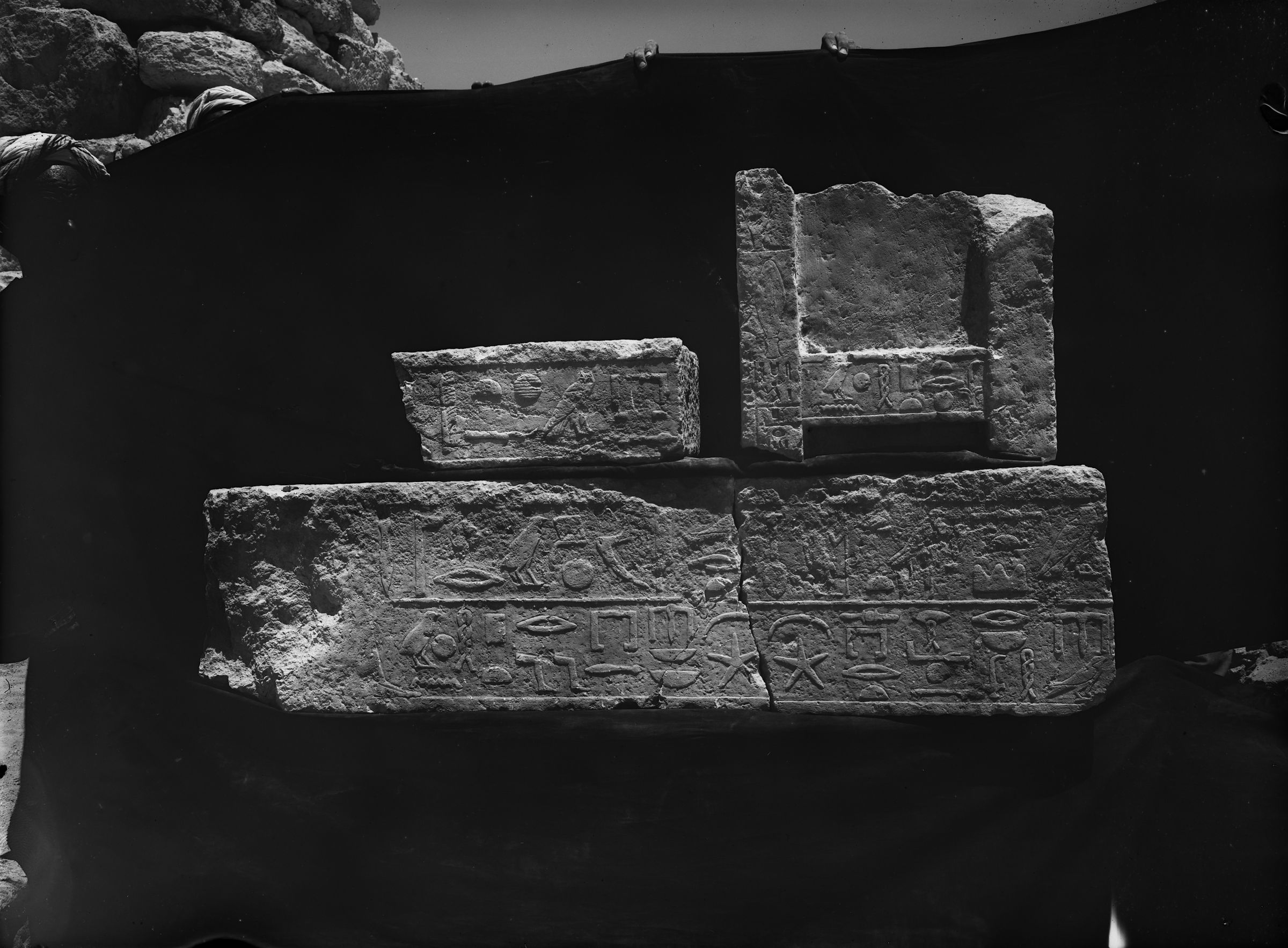 Object(s) photograph: Site: Giza; view: G 7244+7246