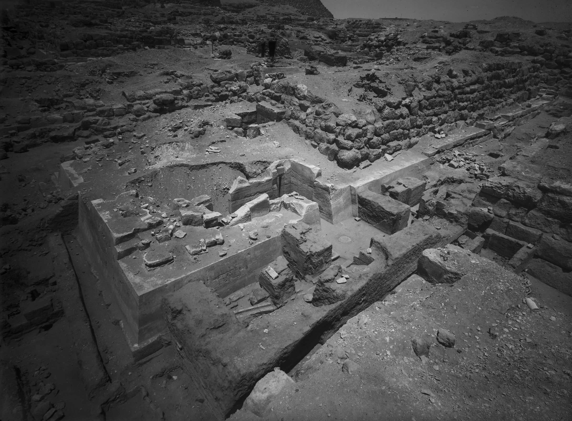 Eastern Cemetery: Site: Giza; View: G 7650