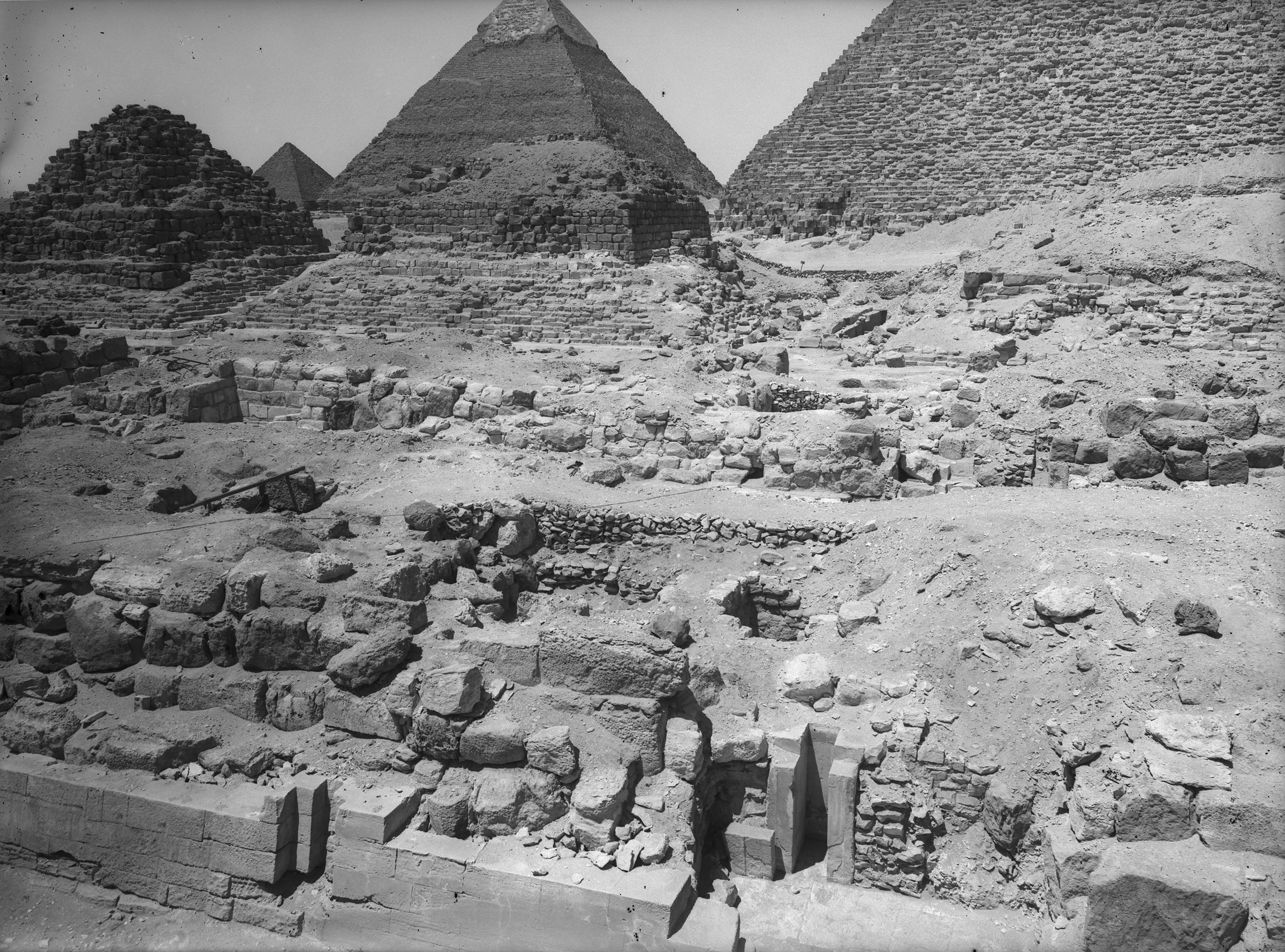 Eastern Cemetery: Site: Giza; View: G 7210-7220, G 7221