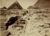 Eastern Cemetery: Site: Giza; View: avenue G 2, G 7430-7440, G 7330-7340, G 7230-7240, G 7410-7420, G 7310-7320, G 7210-7220, G 7432, G 7431