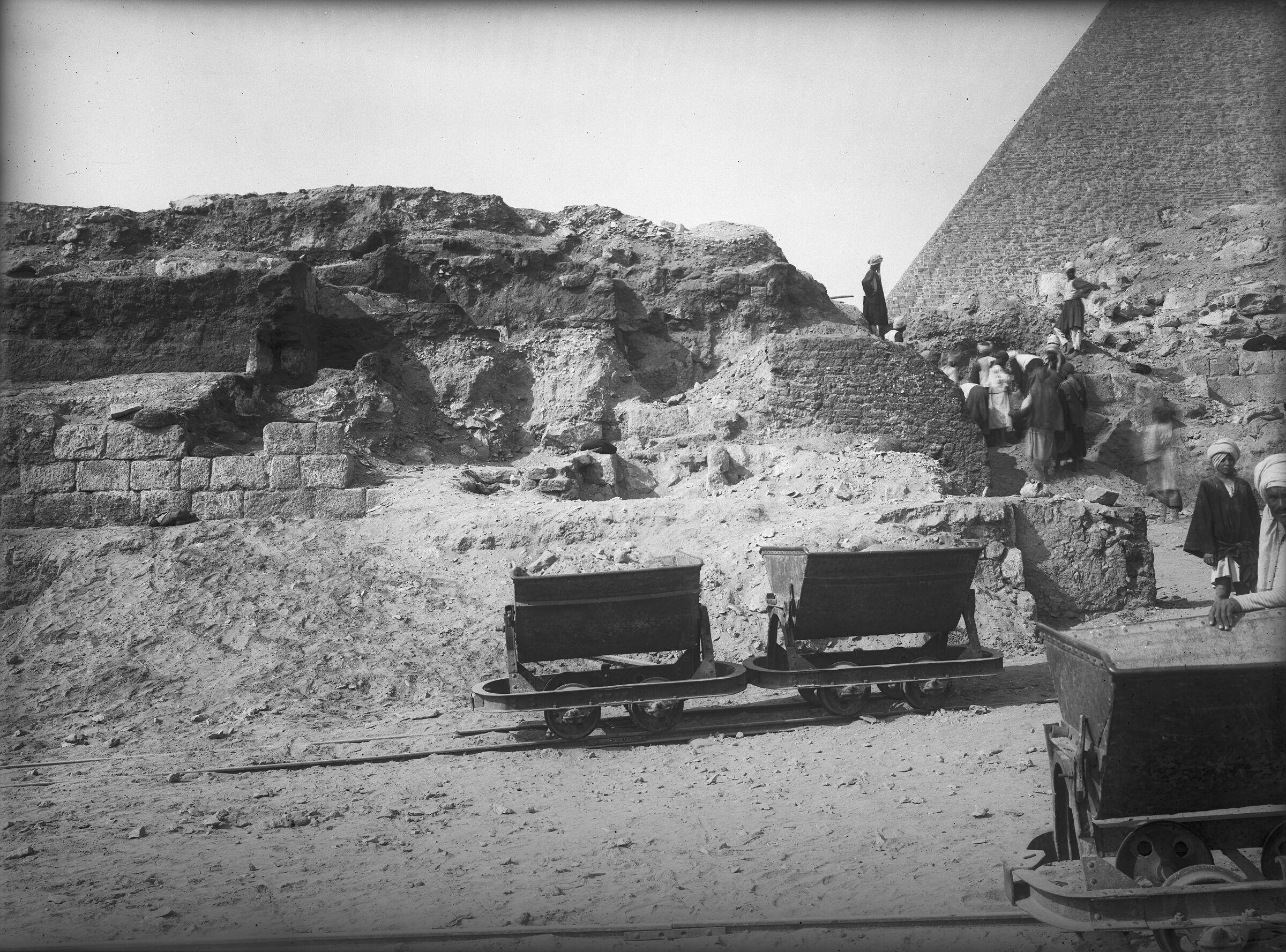 Eastern Cemetery: Site: Giza; View: street G 7700, G 7750, G 7754, G 7755, G 7631