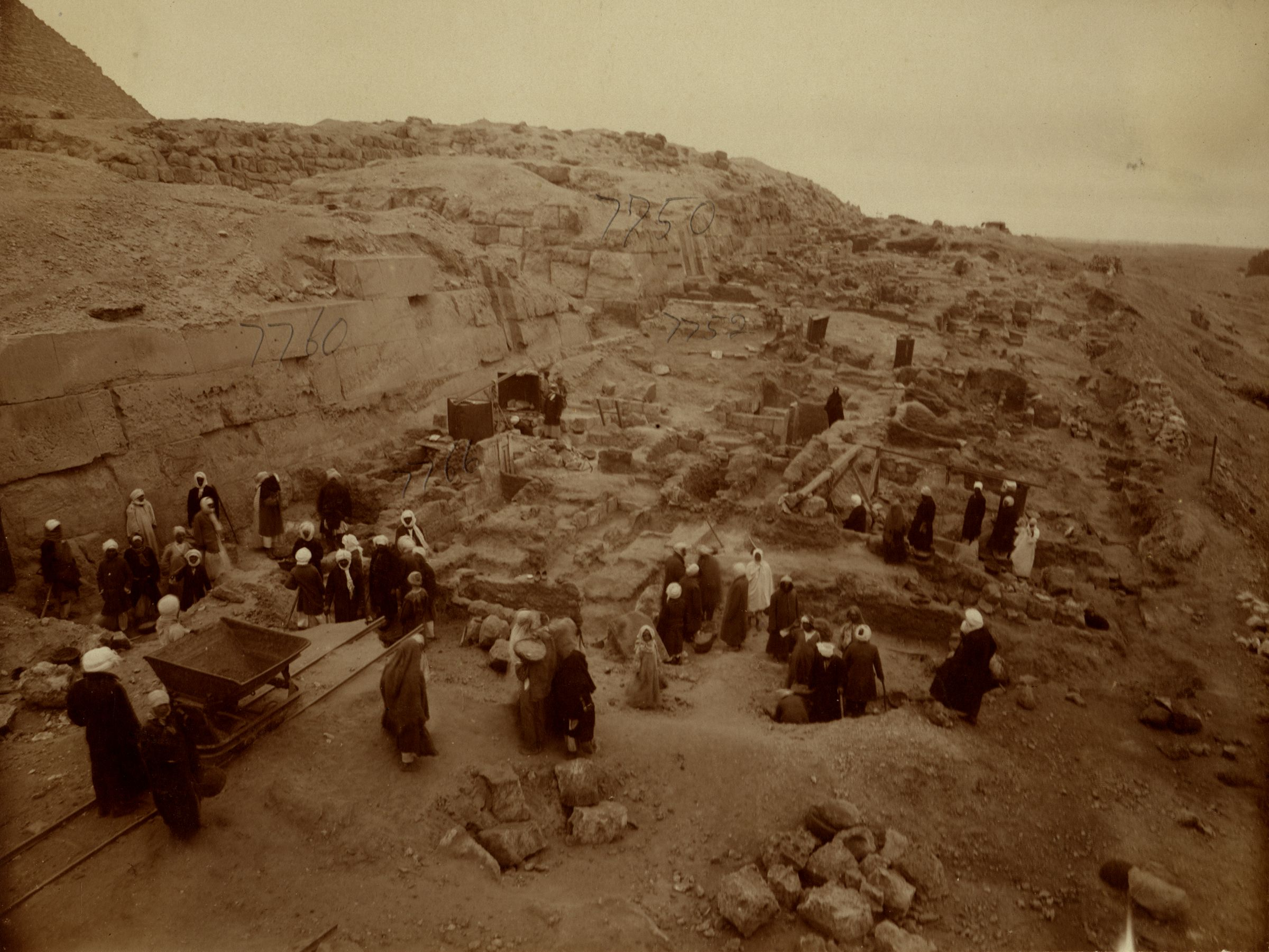 Eastern Cemetery: Site: Giza; View: street G 7700, G 7766, G 7752, G 7760, G 7750