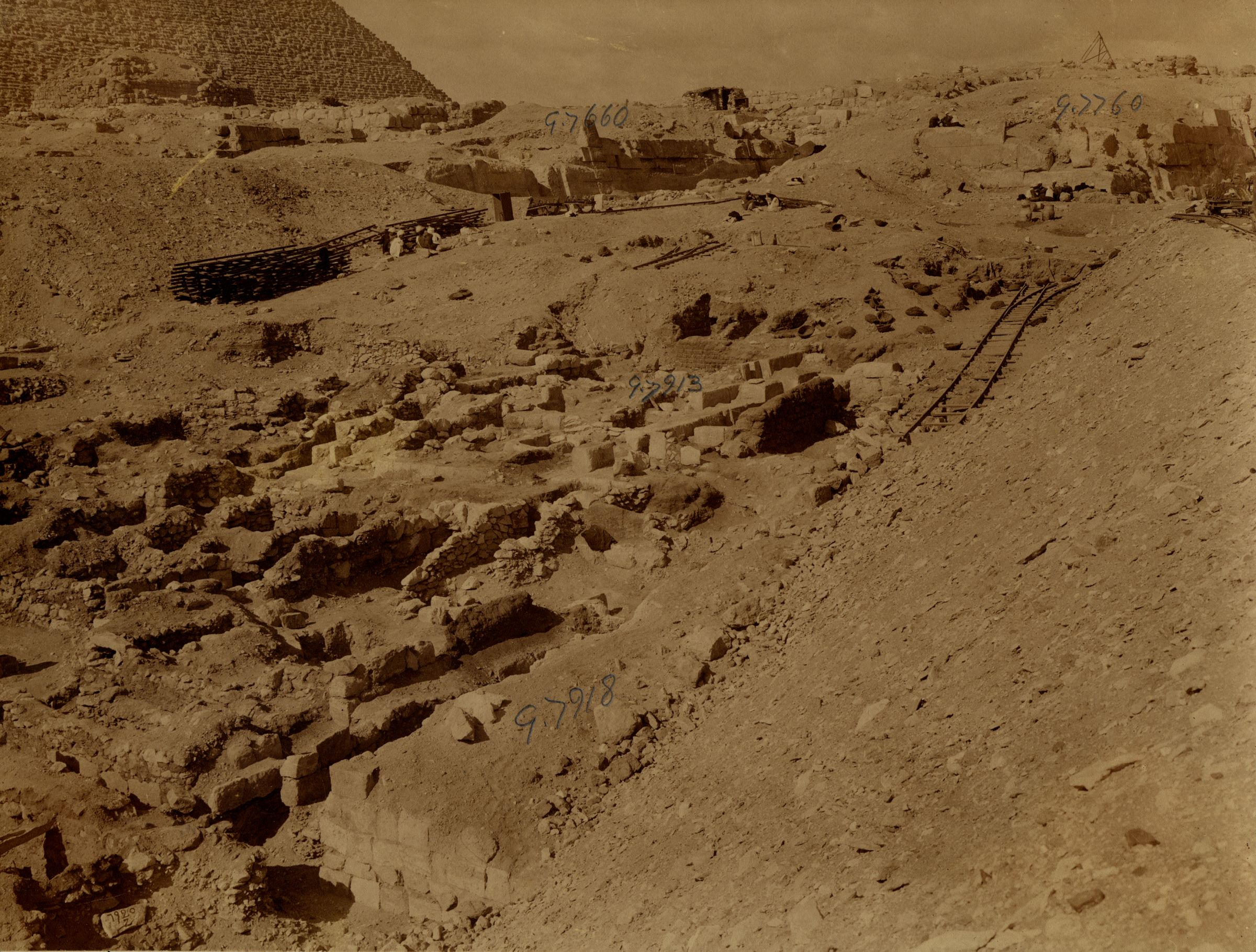 Eastern Cemetery: Site: Giza; View: G 7760, G 7918, G 7913, G 7660