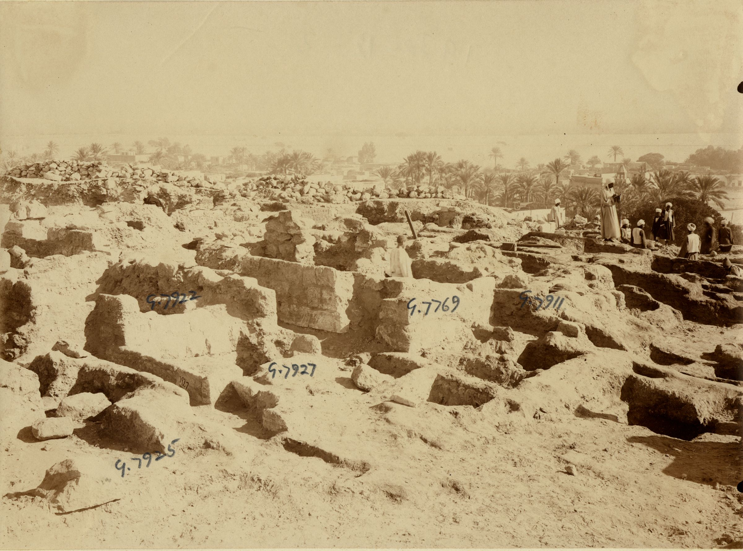 Eastern Cemetery: Site: Giza; View: G 7925, G 7927, G 7922, G 7769, G 7911