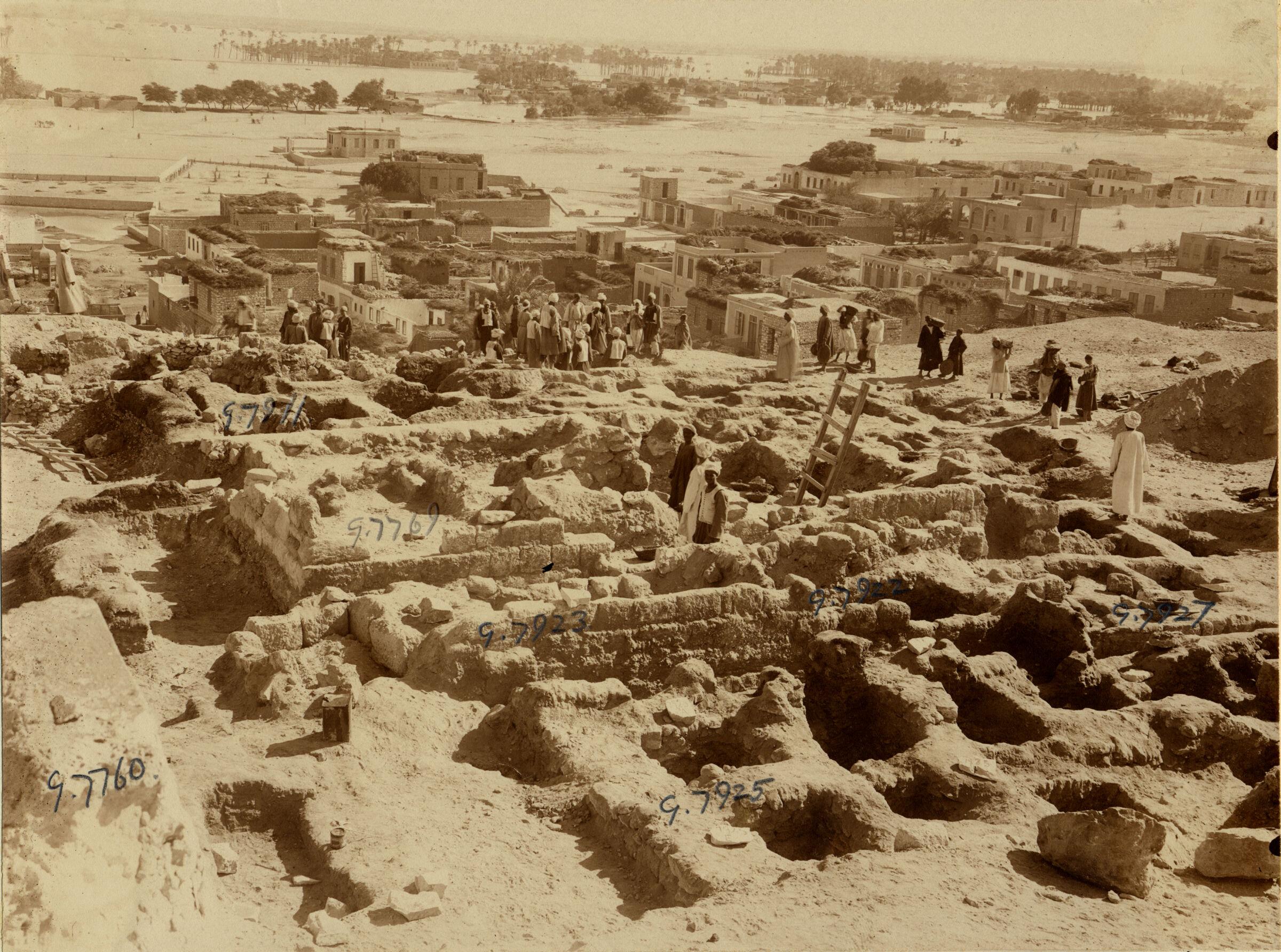 Eastern Cemetery: Site: Giza; View: G 7760, G 7925, G 7923, G 7922, G 7927, G 7769, G 7911