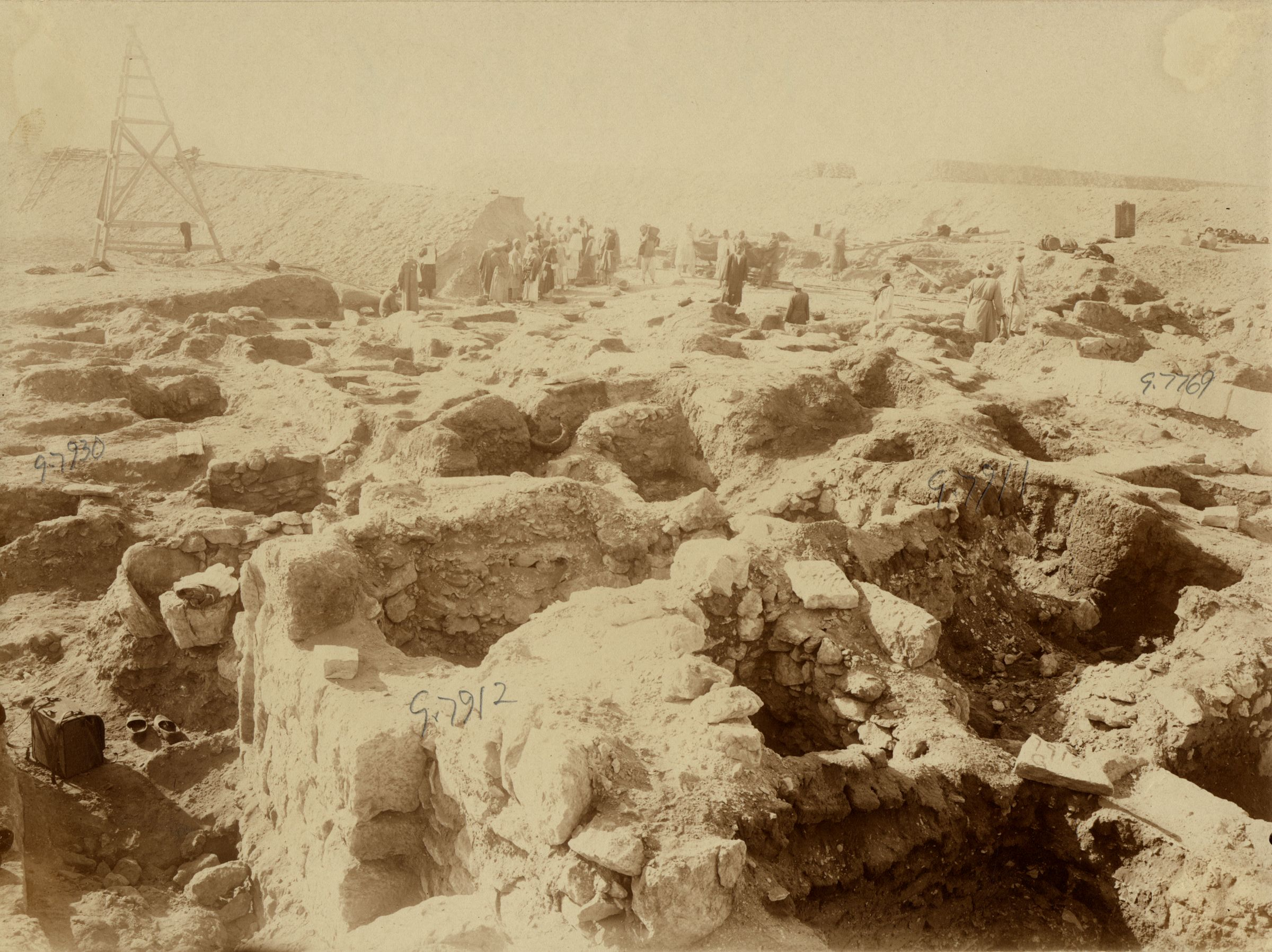 Eastern Cemetery: Site: Giza; View: G 7912, G 7930, G 7911, G 7769