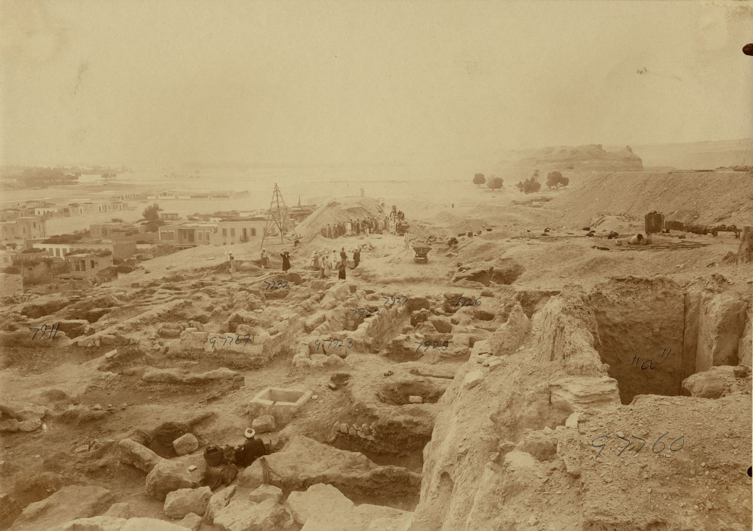 Eastern Cemetery: Site: Giza; View: G 7760, G 7911, G 7769, G 7932, G 7923, G 7922, G 7927, G 7925, G 7926