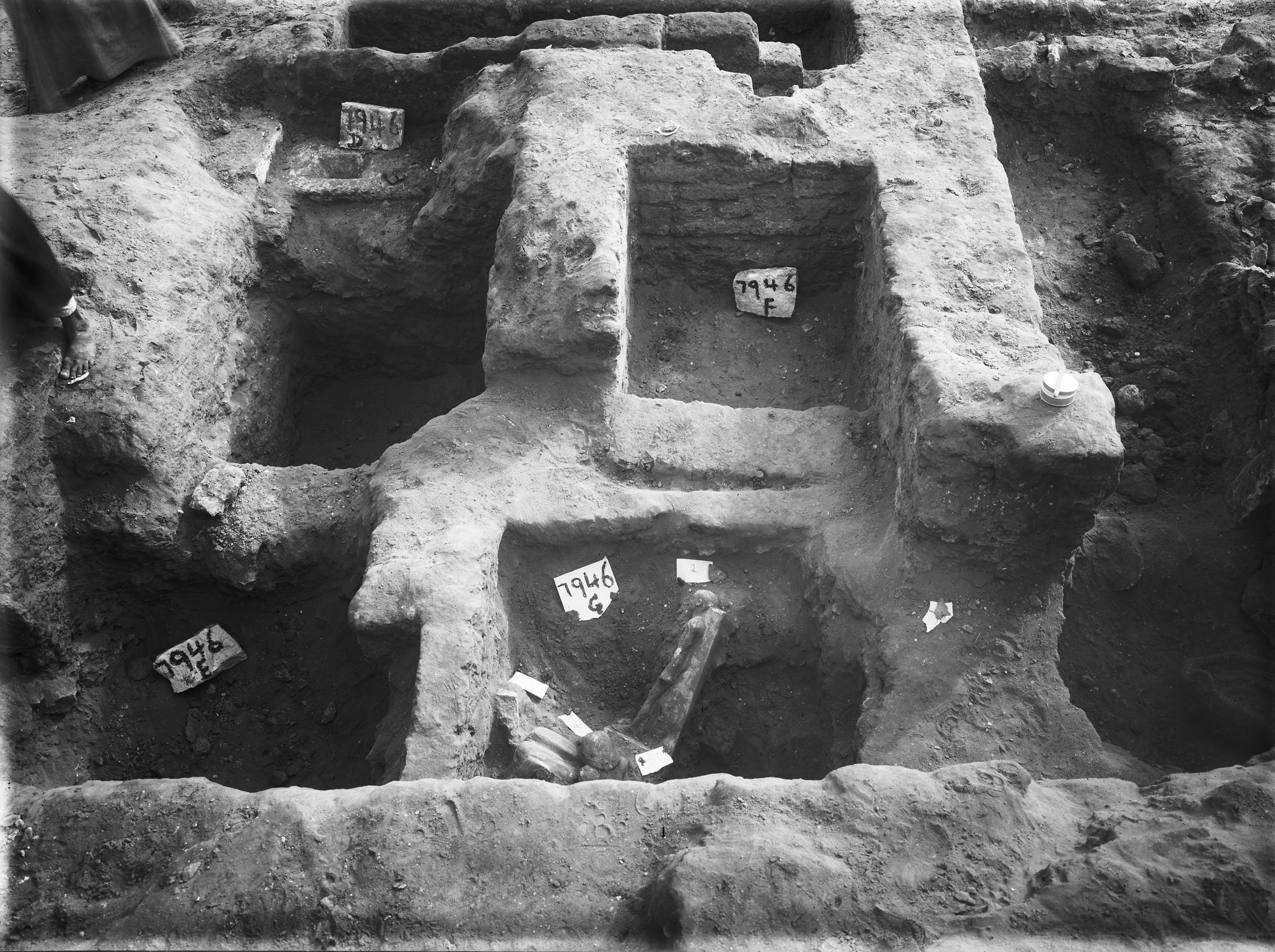Eastern Cemetery: Site: Giza; View: G 7946