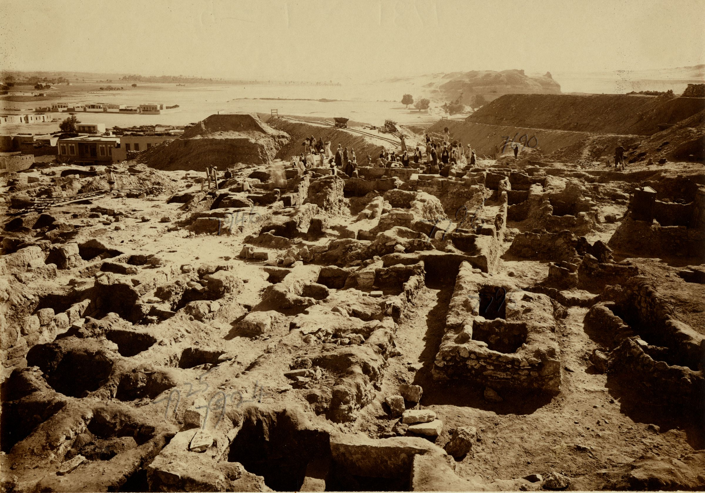 Eastern Cemetery: Site: Giza; View: G 7924, G 7925, G 7795, G 7796, G 7946, G 7690