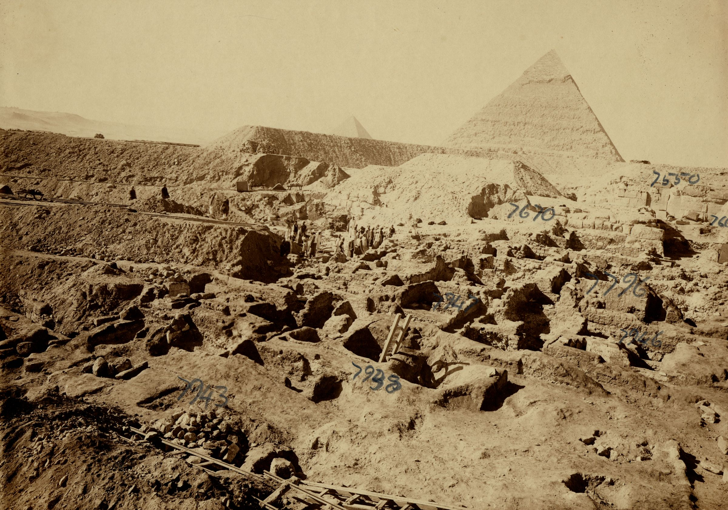 Eastern Cemetery: Site: Giza; View: G 7943, G 7938, G 7947, G 7946, G 7796, G 7670