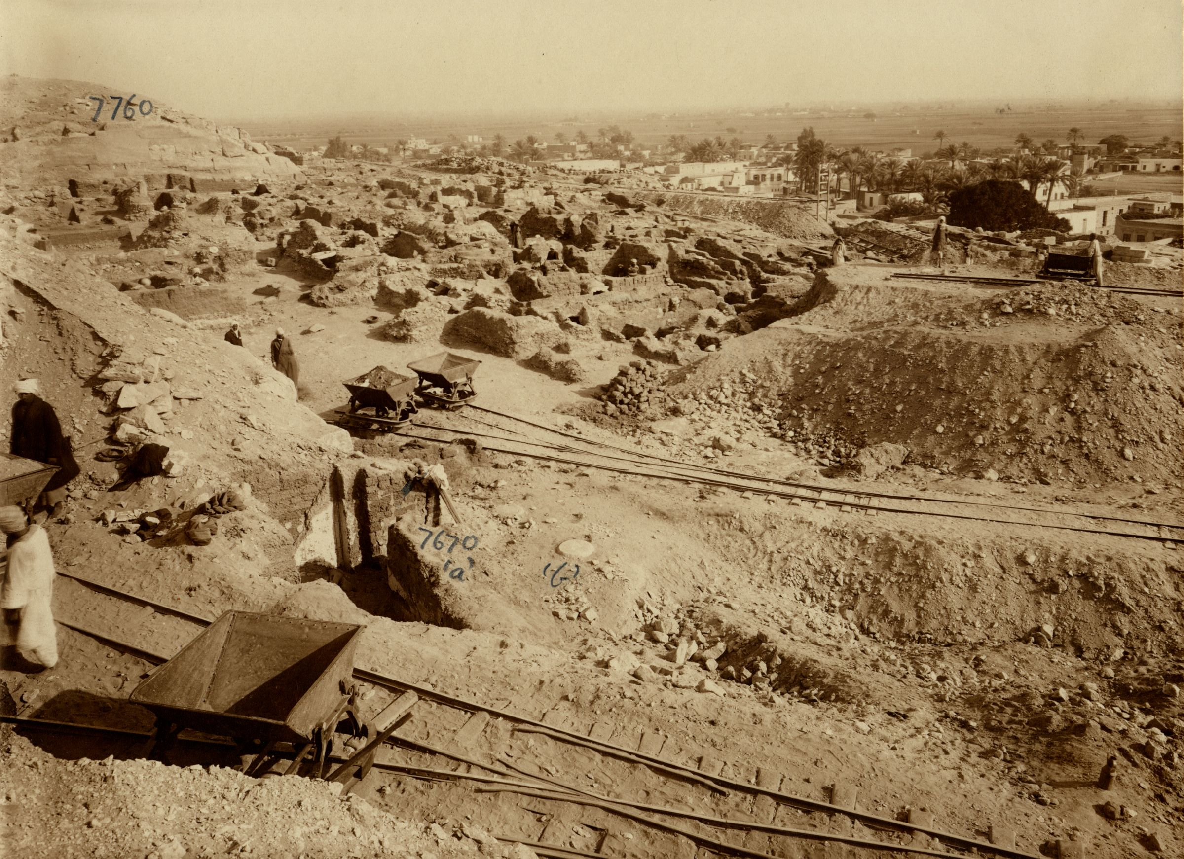 Eastern Cemetery: Site: Giza; View: G 7670, G 7760